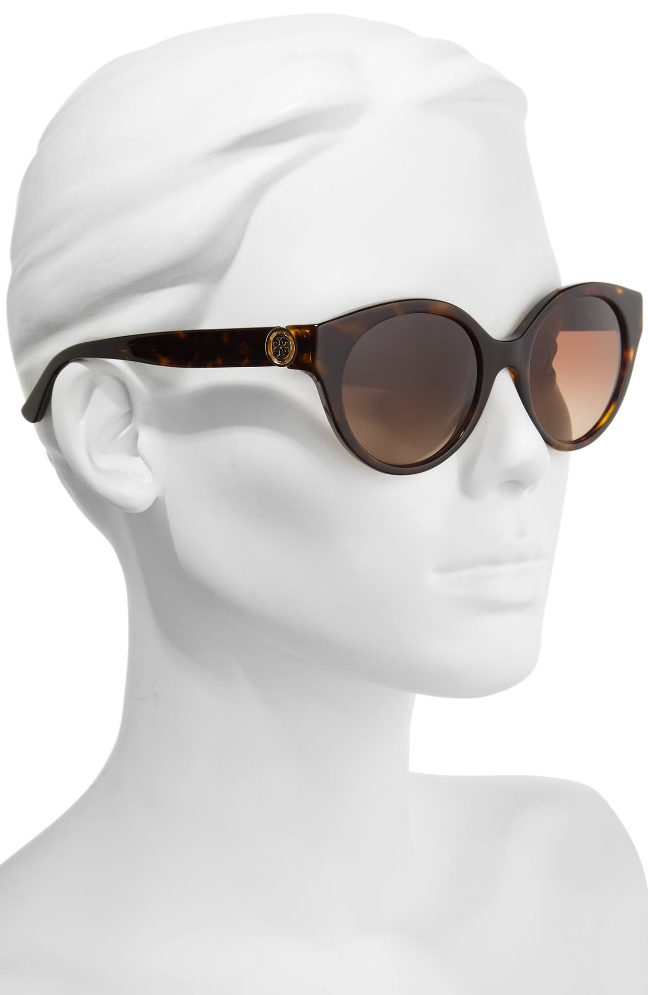 Alternate Image 2  - Tory Burch 52mm Cat Eye Sunglasses