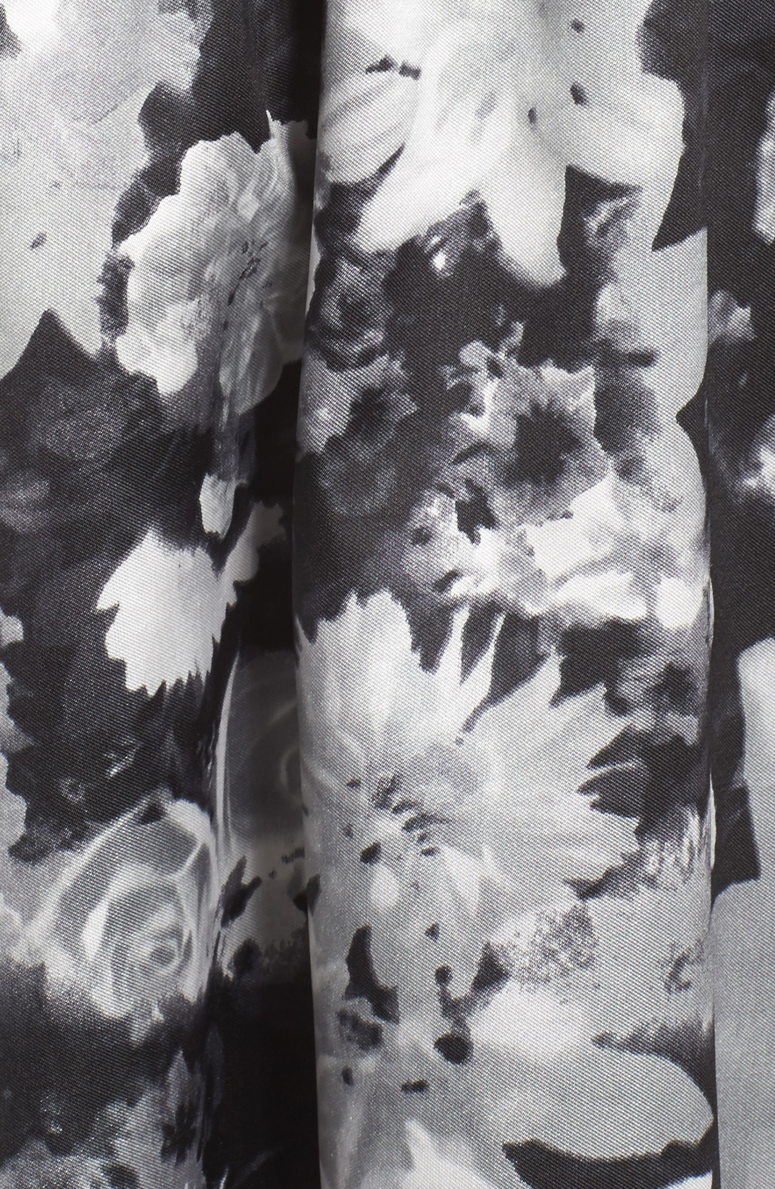 Alternate Image 5  - Alfred Sung Floral Sateen Gown