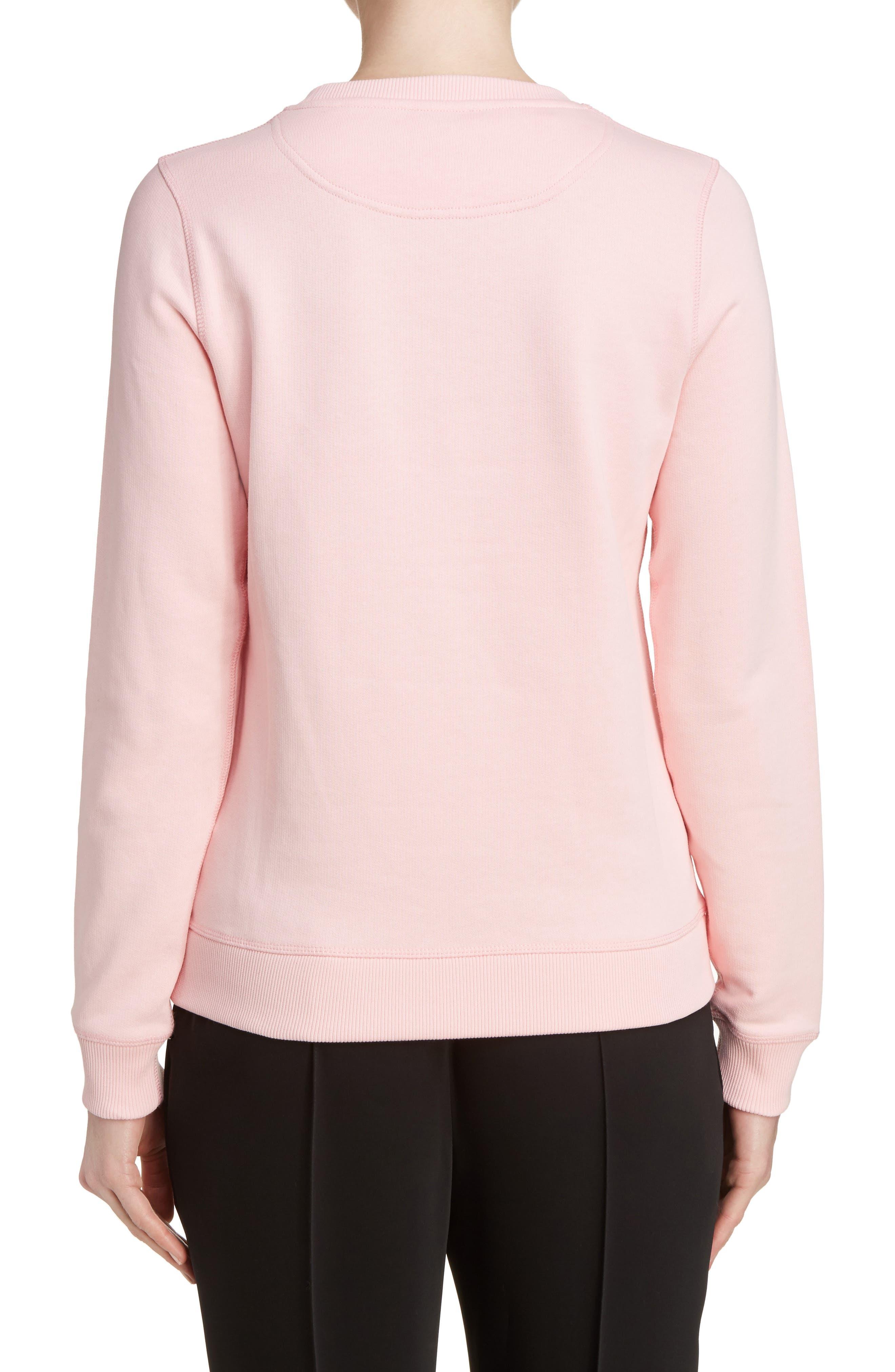 Alternate Image 2  - KENZO Embroidered Cotton Sweatshirt