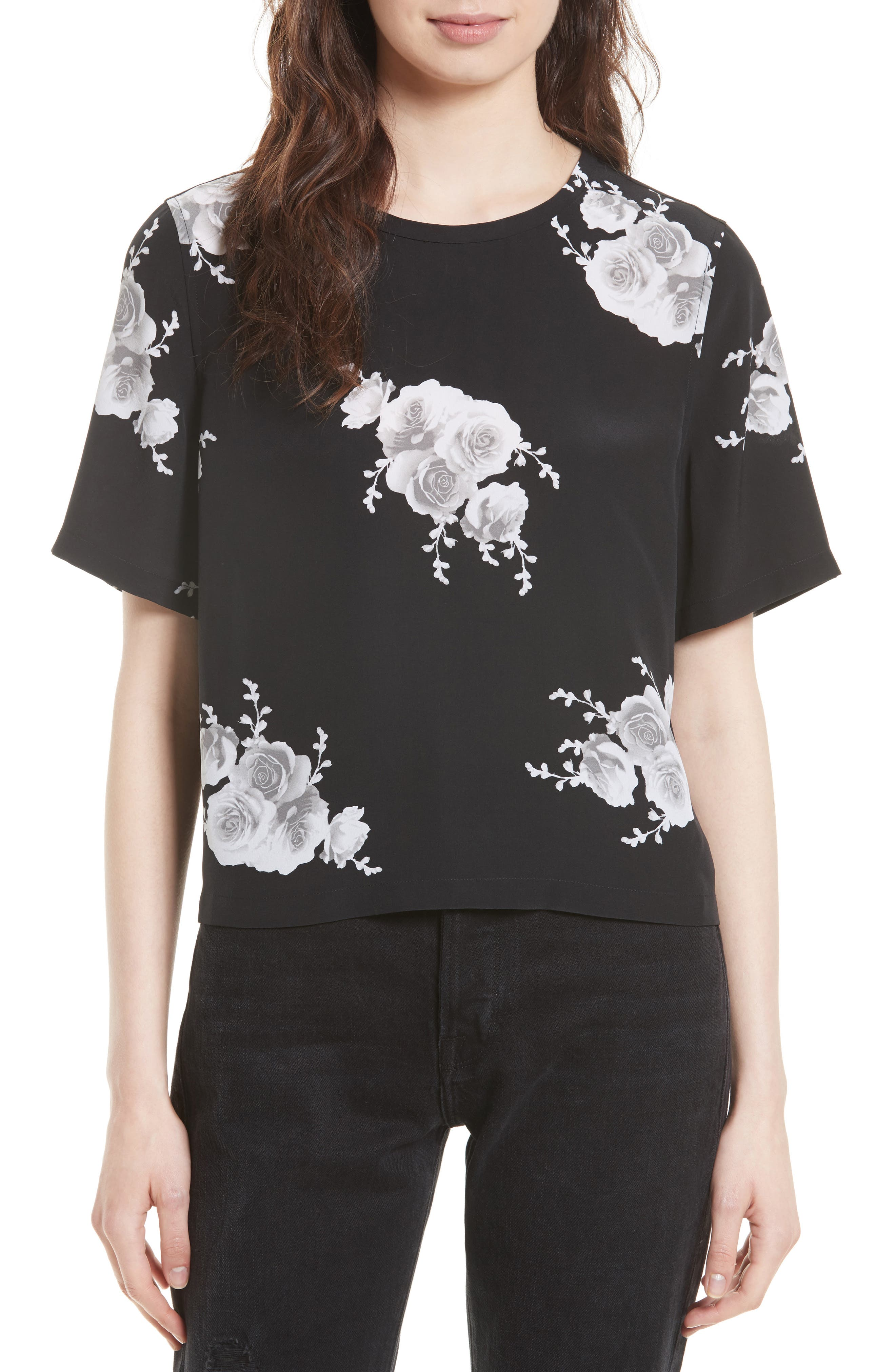EQUIPMENT Brynn Silk Tee