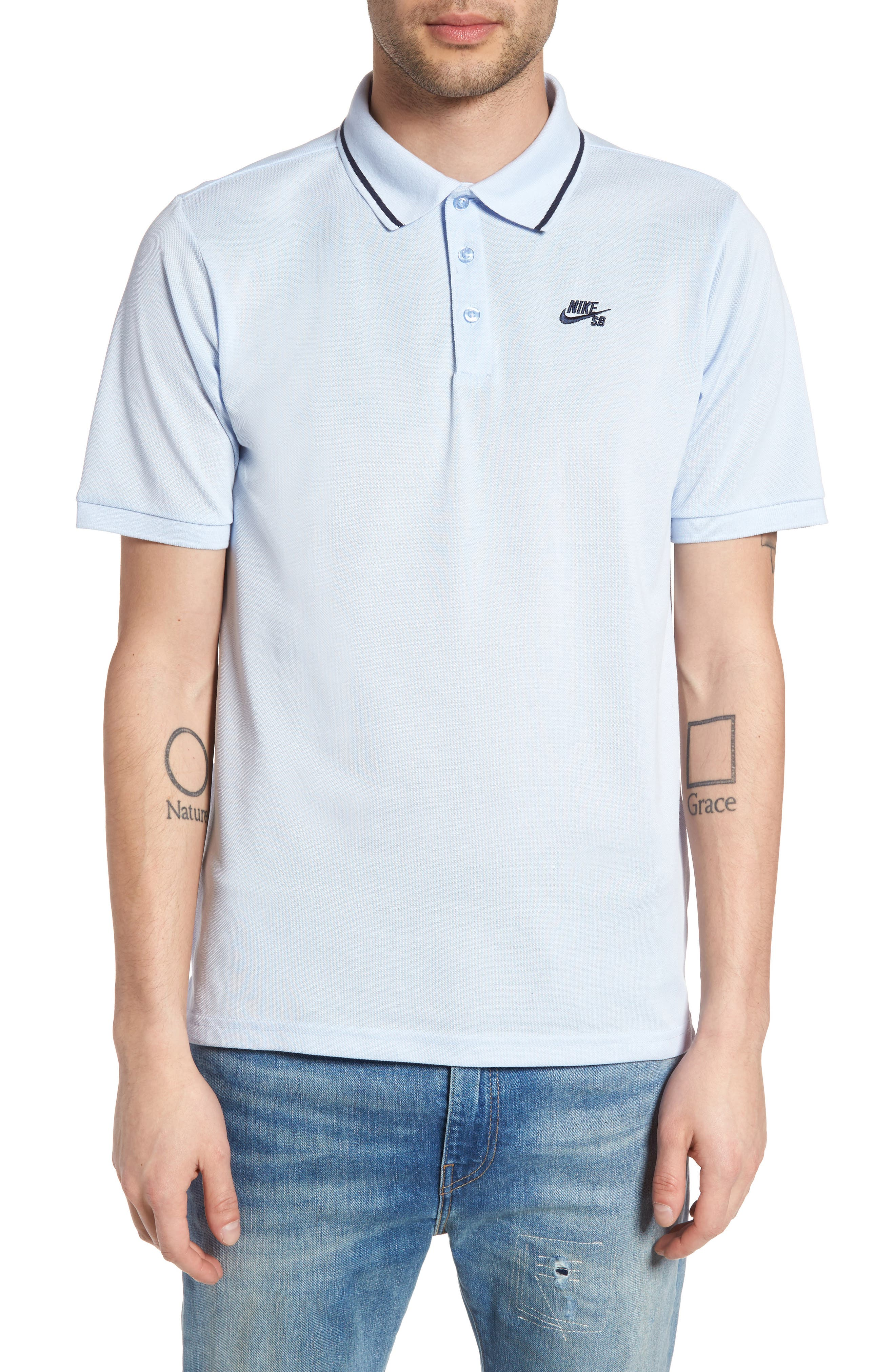 Main Image - Nike SB Dri-FIT Piqué Polo