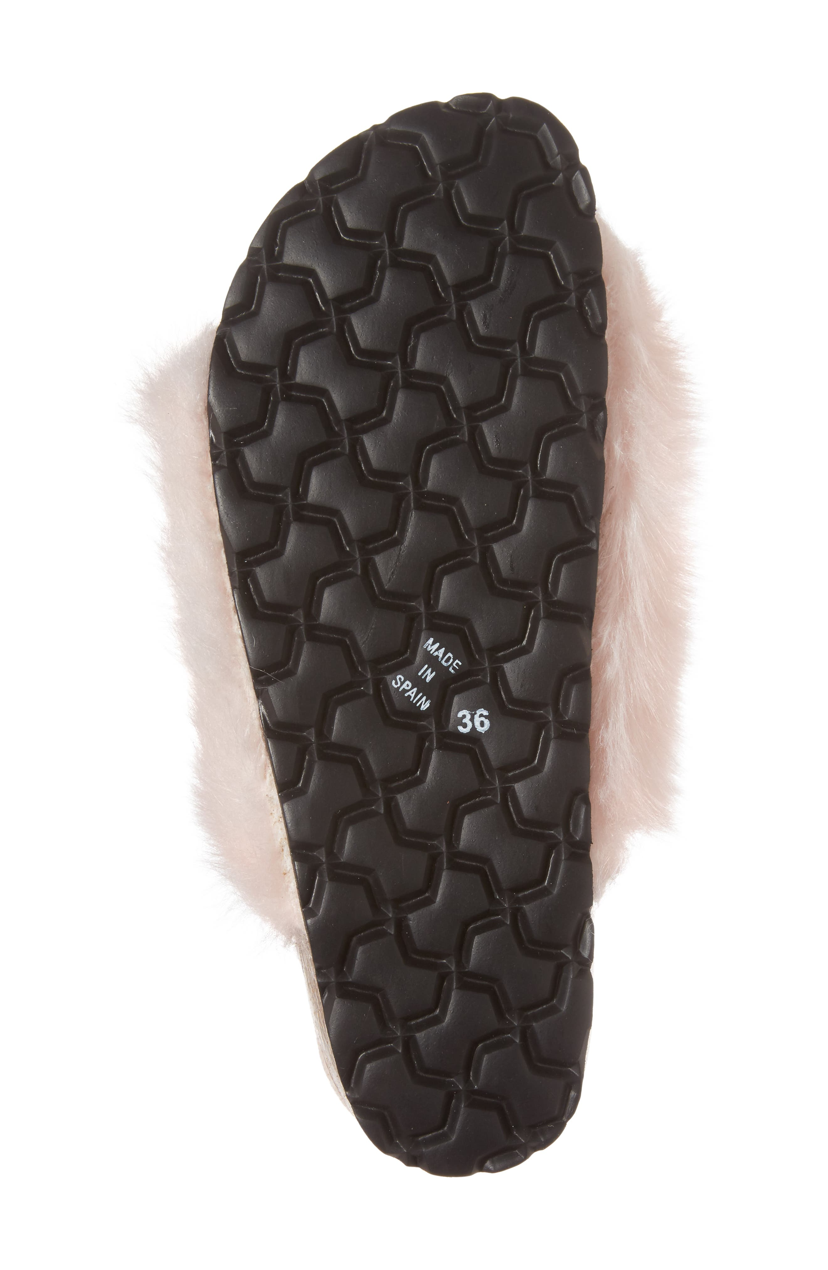Alternate Image 6  - Topshop Falcon Faux Fur Slide Sandal (Women)