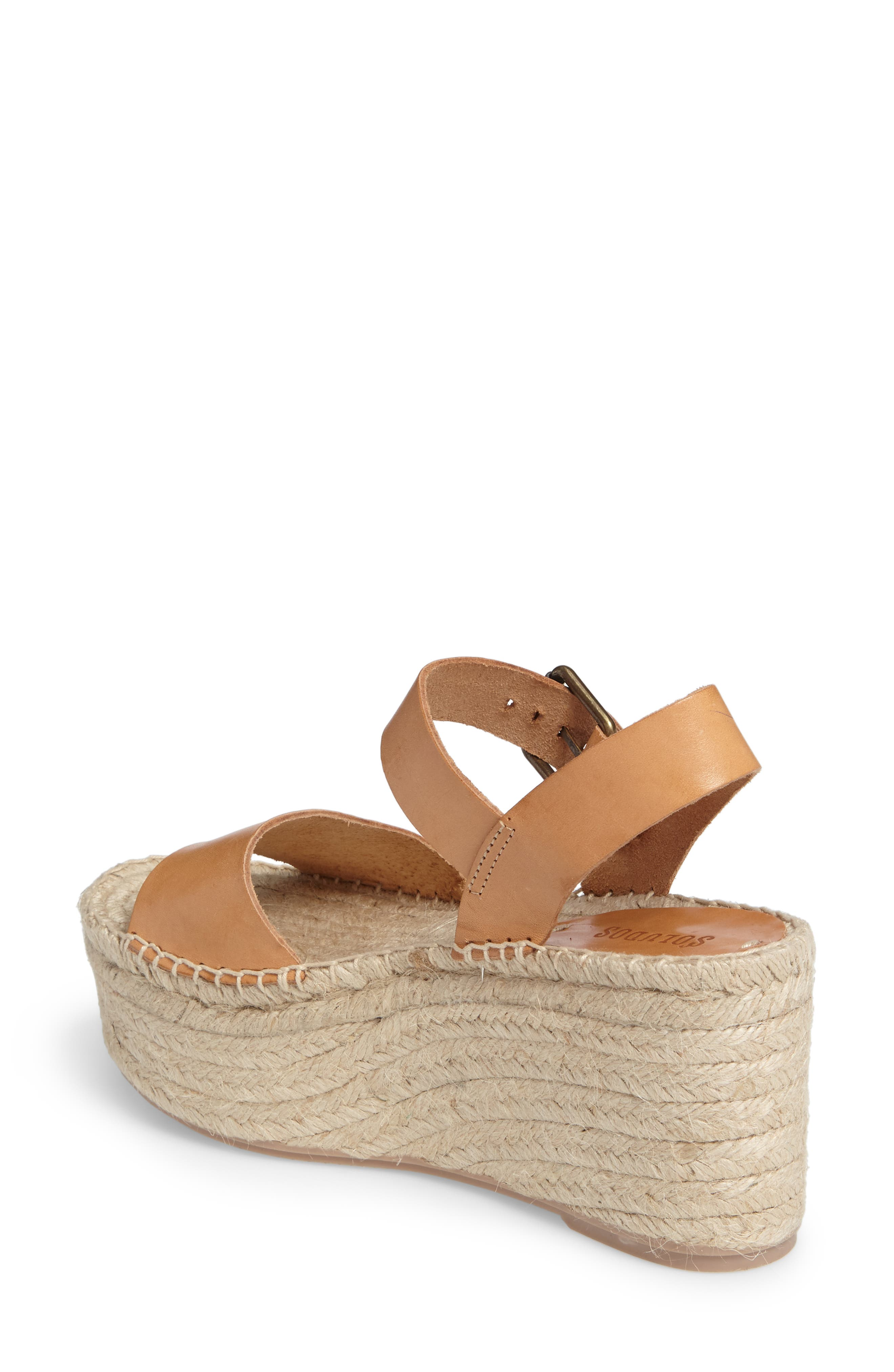 Alternate Image 2  - Soludos Platform Wedge Sandal (Women)