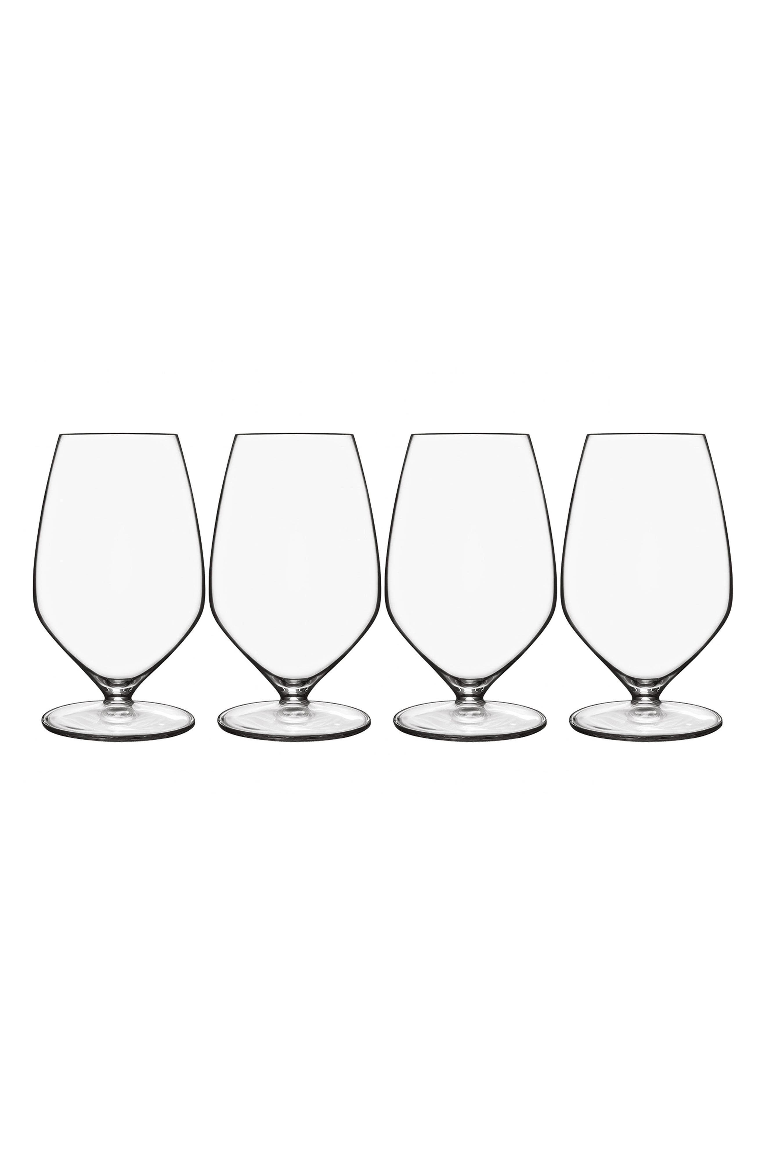 T-Glass Set of 4 Sauvignon Glasses,                             Main thumbnail 1, color,                             Clear
