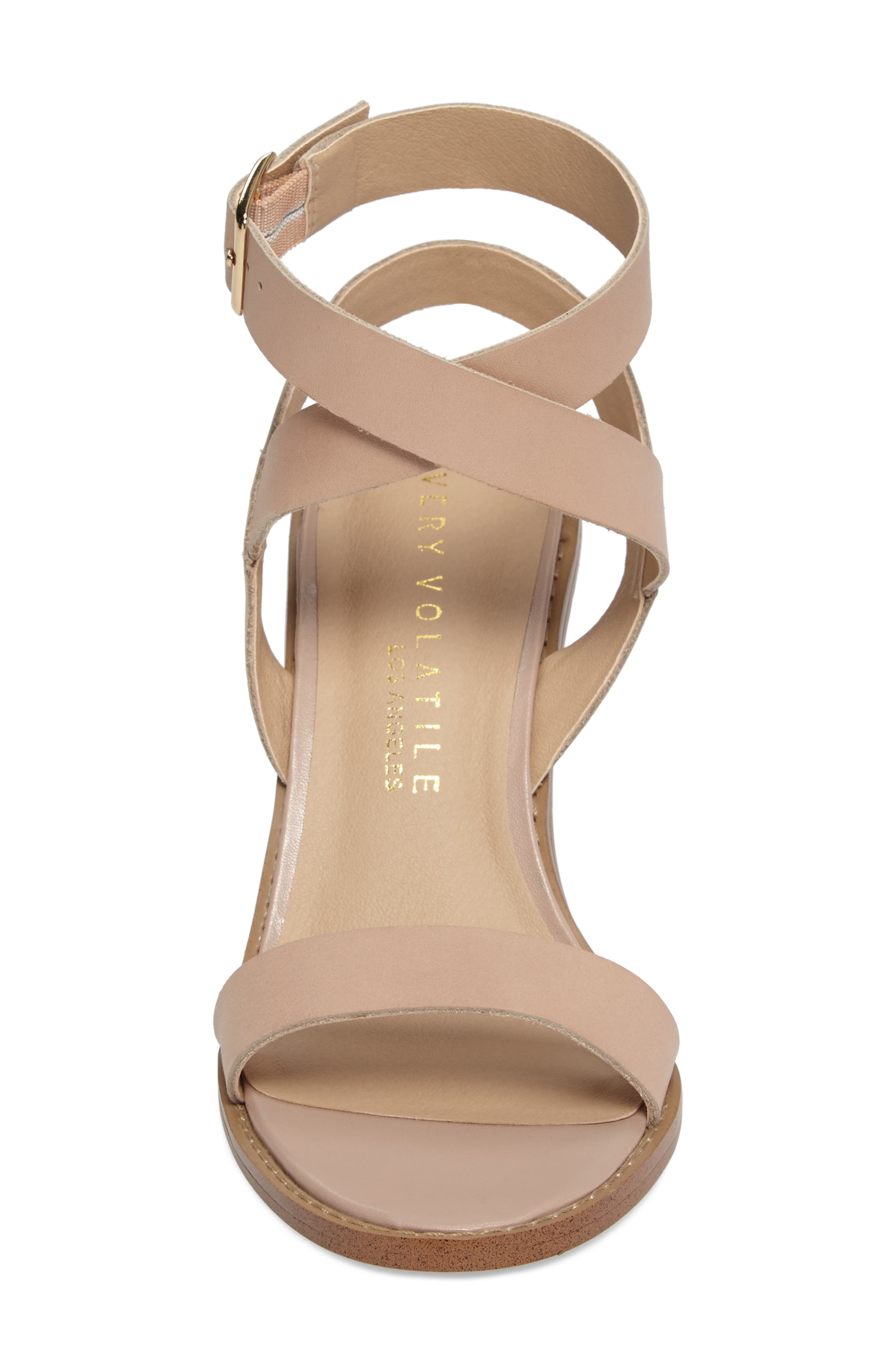 Alternate Image 4  - Very Volatile Poshy Ankle Wrap Sandal (Women)
