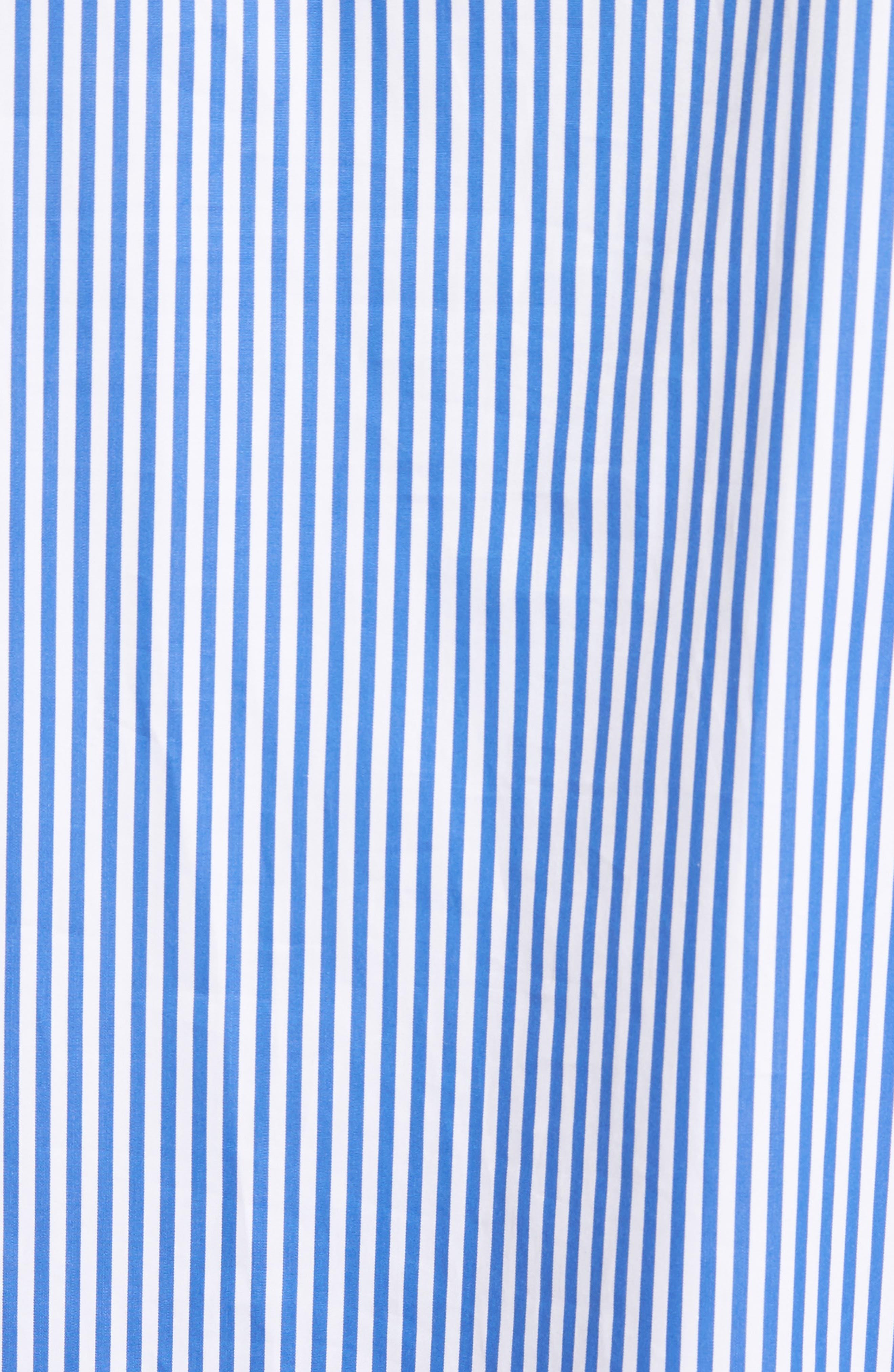 Alternate Image 5  - JOSEPH Thomas Stripe Forever Tie Cuff Shirt