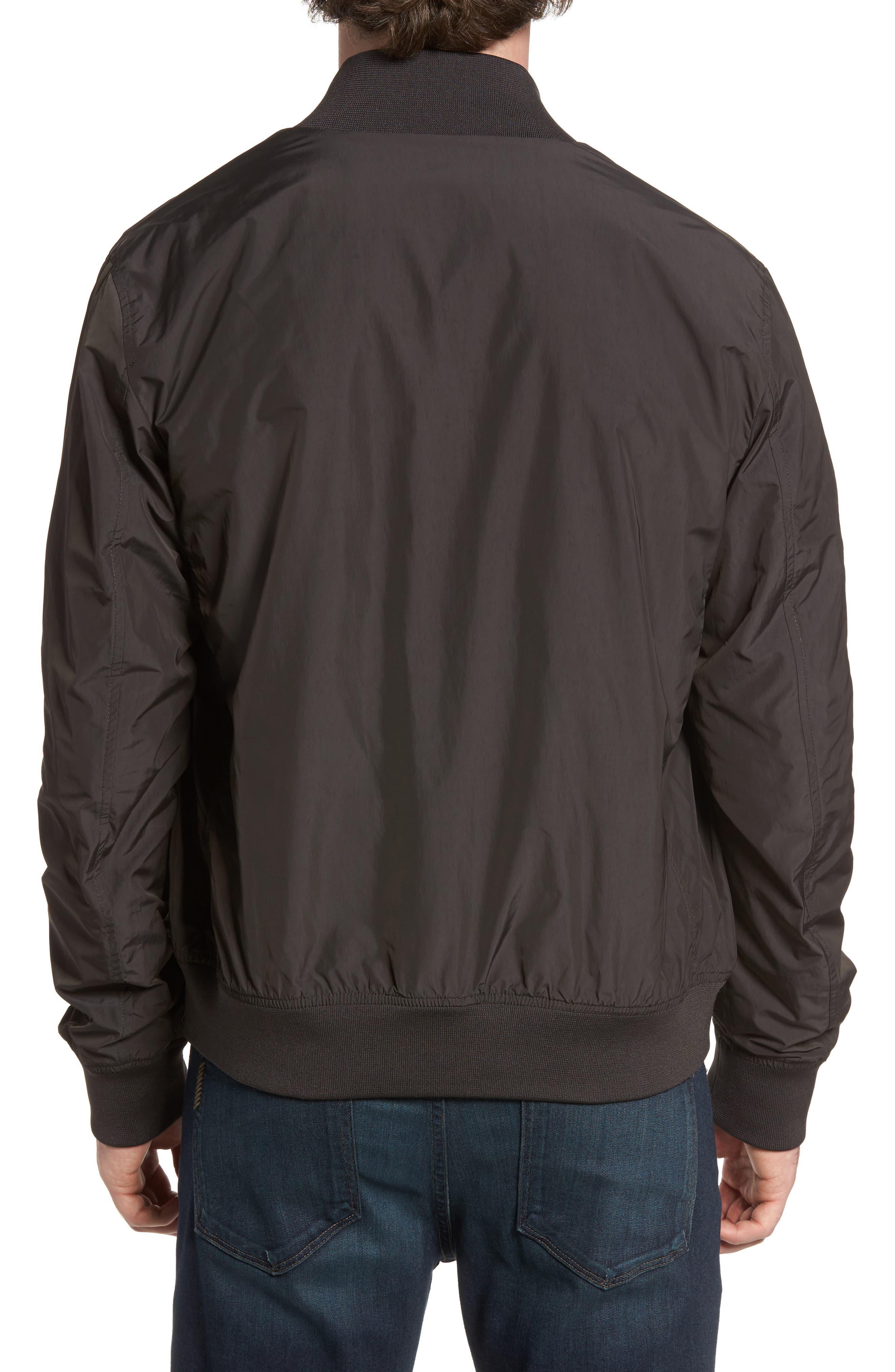 John Rich Shore Bomber Jacket,                             Alternate thumbnail 2, color,                             Faded Black