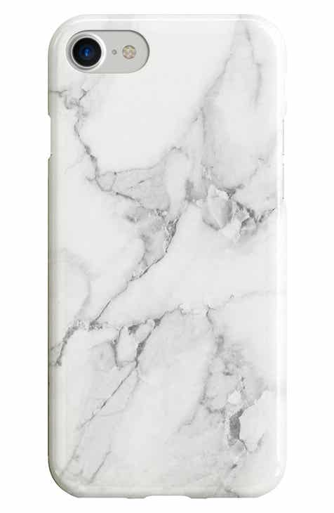 f60c9e0353cb1a Recover White Marble iPhone 6 6s 7 8   6 6s 7 8 Plus Case