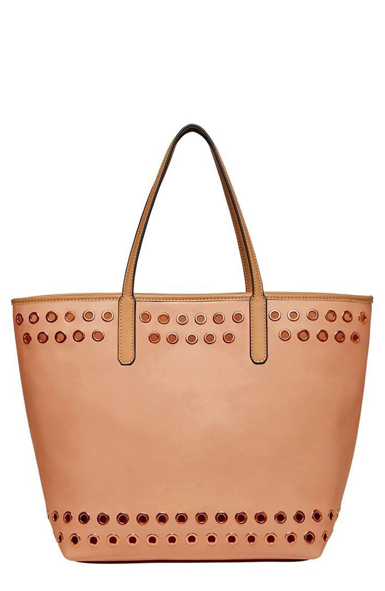 Alternate Image 1 Selected - Urban Originals Wonderland Vegan Leather Tote & Shoulder Bag