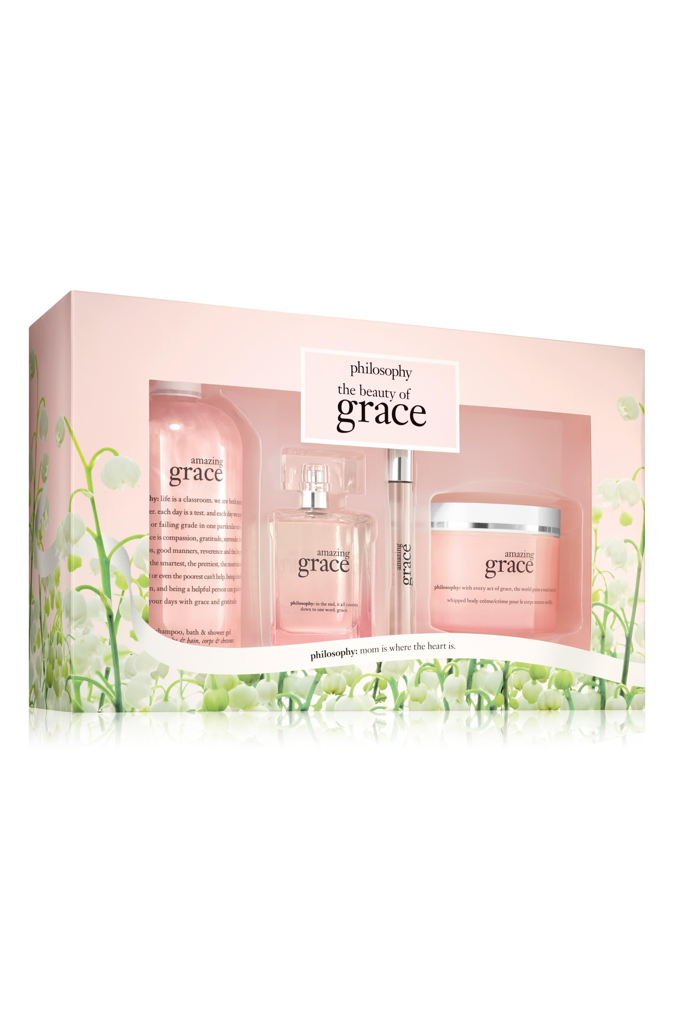 amazing grace eau de parfum set,                         Main,                         color, No Color