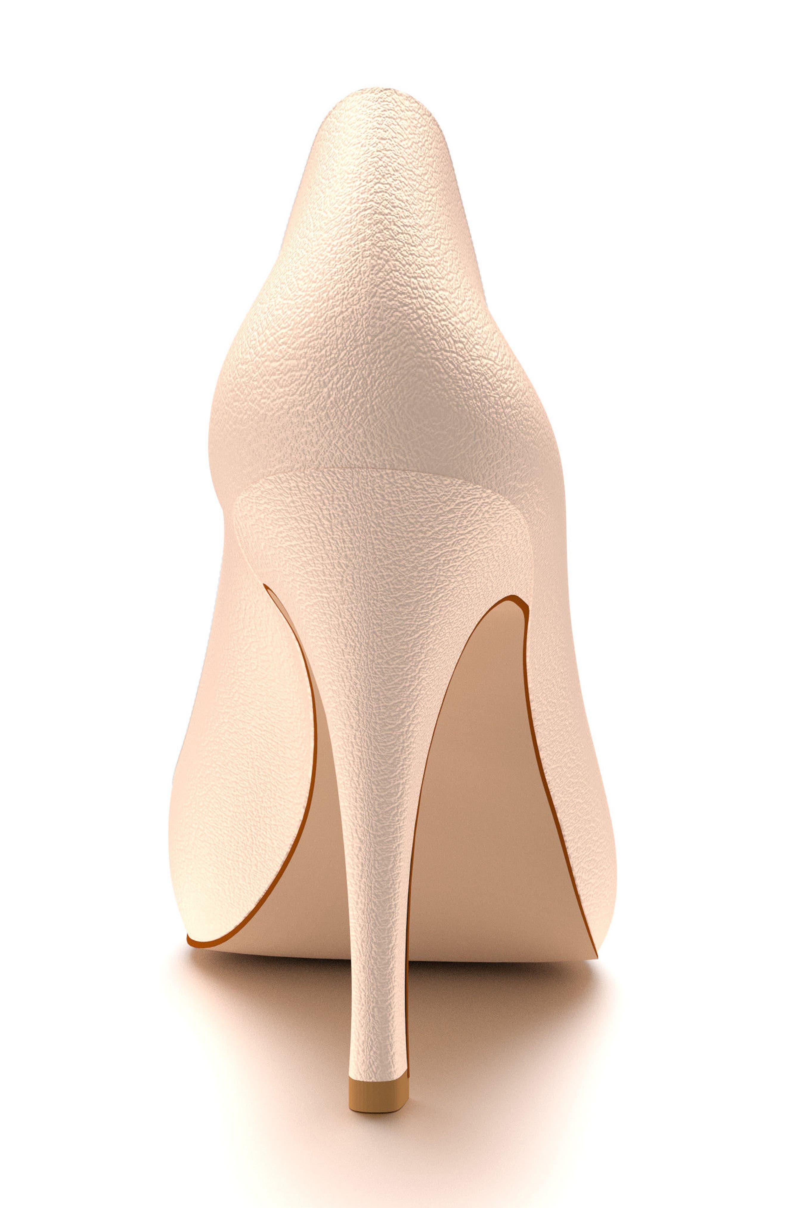 Alternate Image 3  - Shoes of Prey Peep Toe Pump (Women)