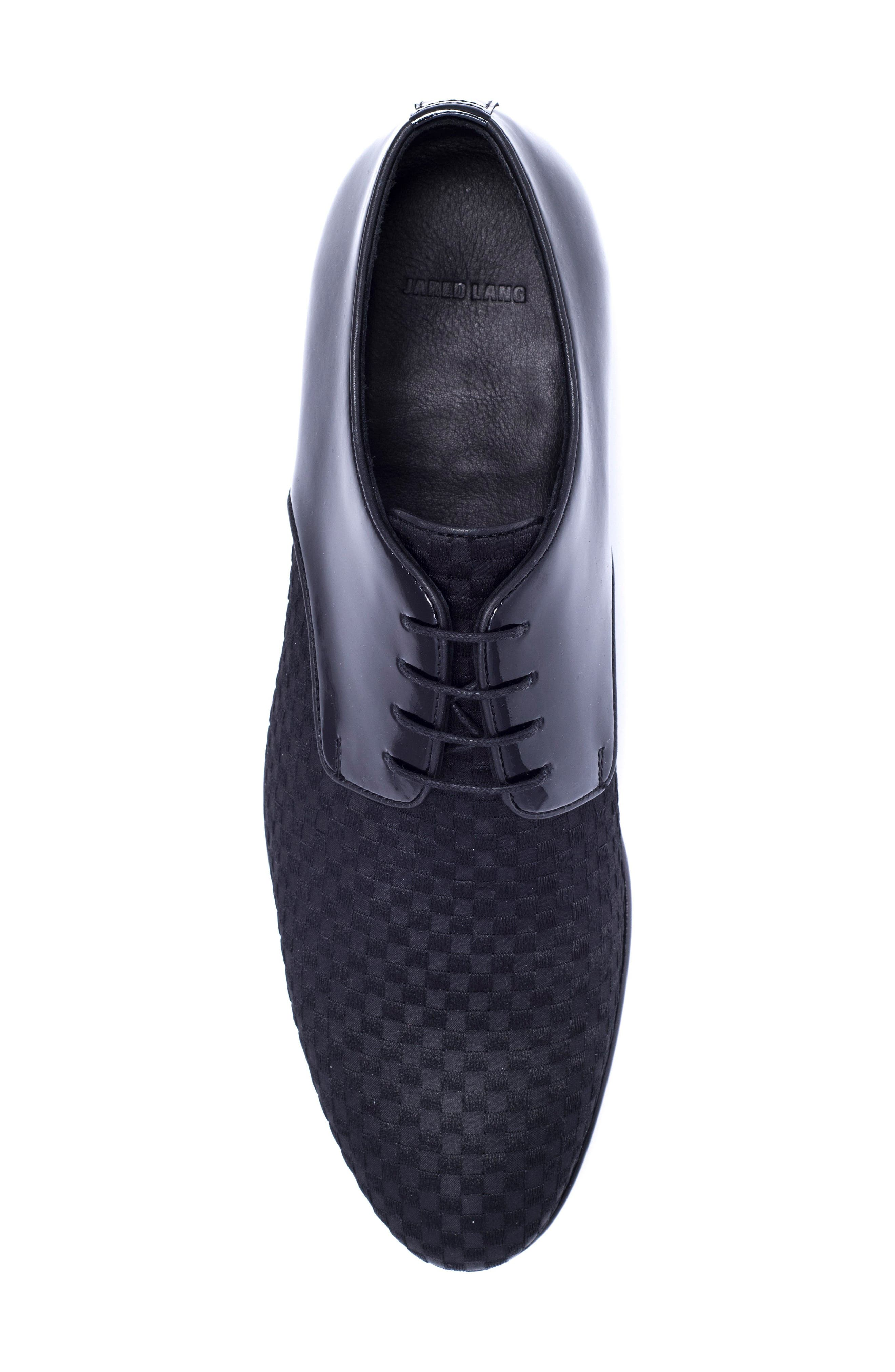 Alternate Image 3  - Jared Lang Woven Toe Derby (Men)