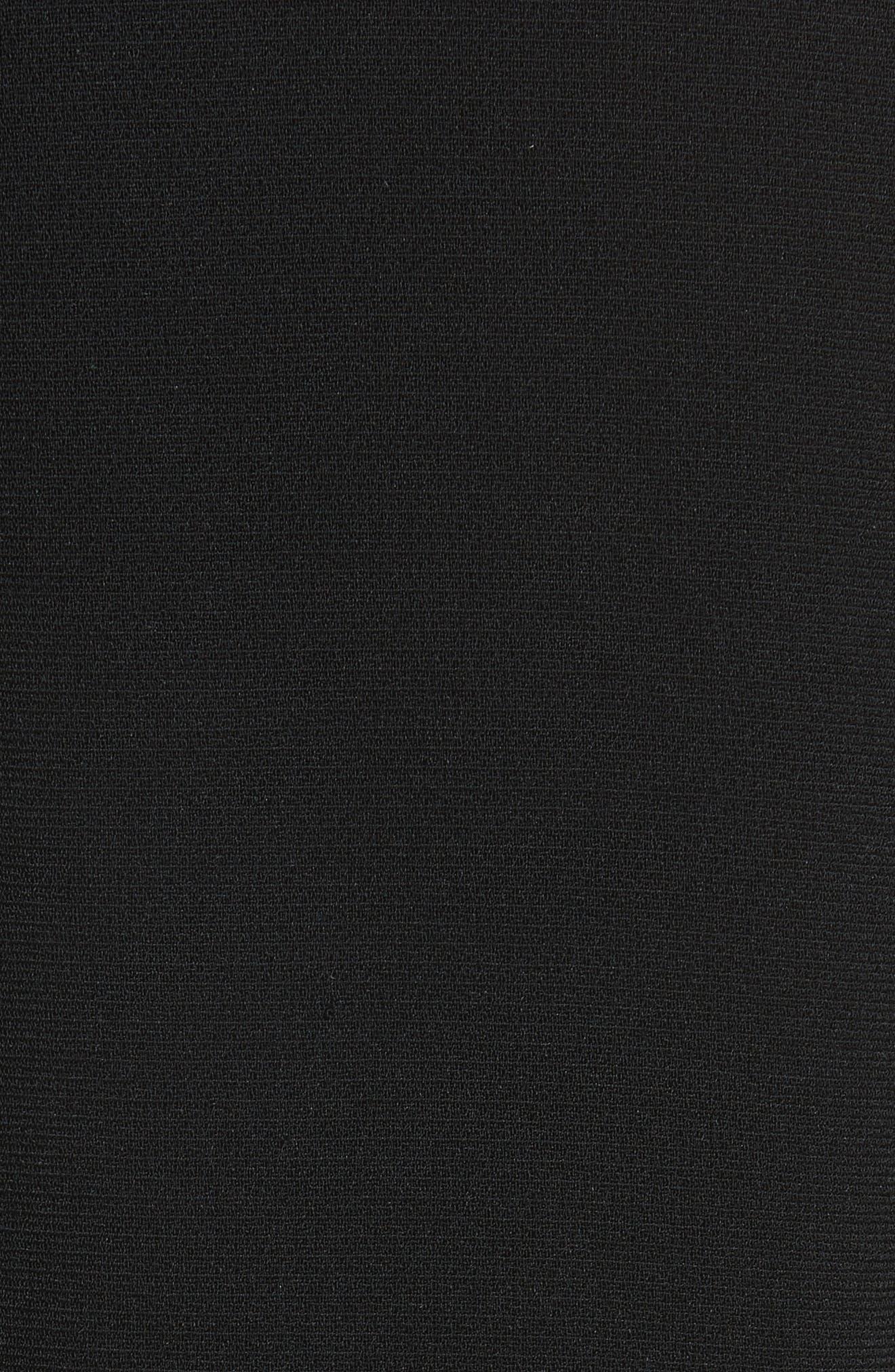 Alternate Image 3  - Brandon Maxwell Petal Sleeve Crepe Dress