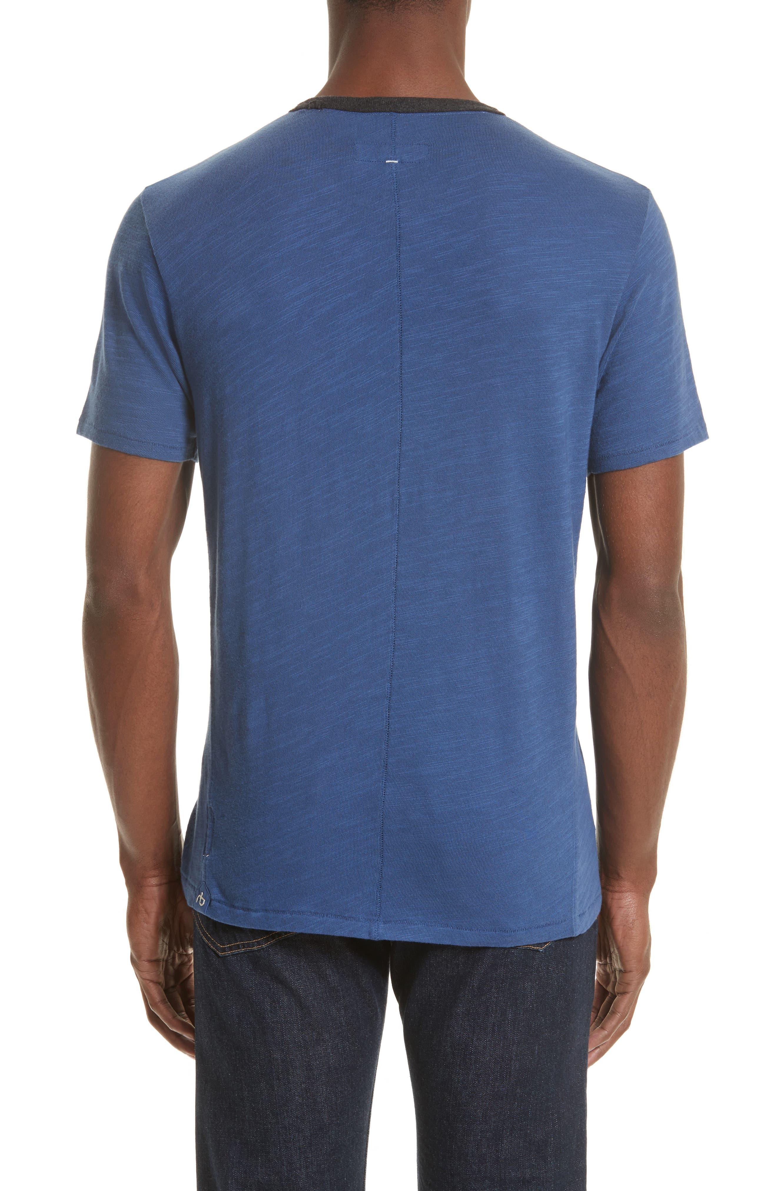 Alternate Image 2  - rag & bone Slub Cotton Jersey T-Shirt