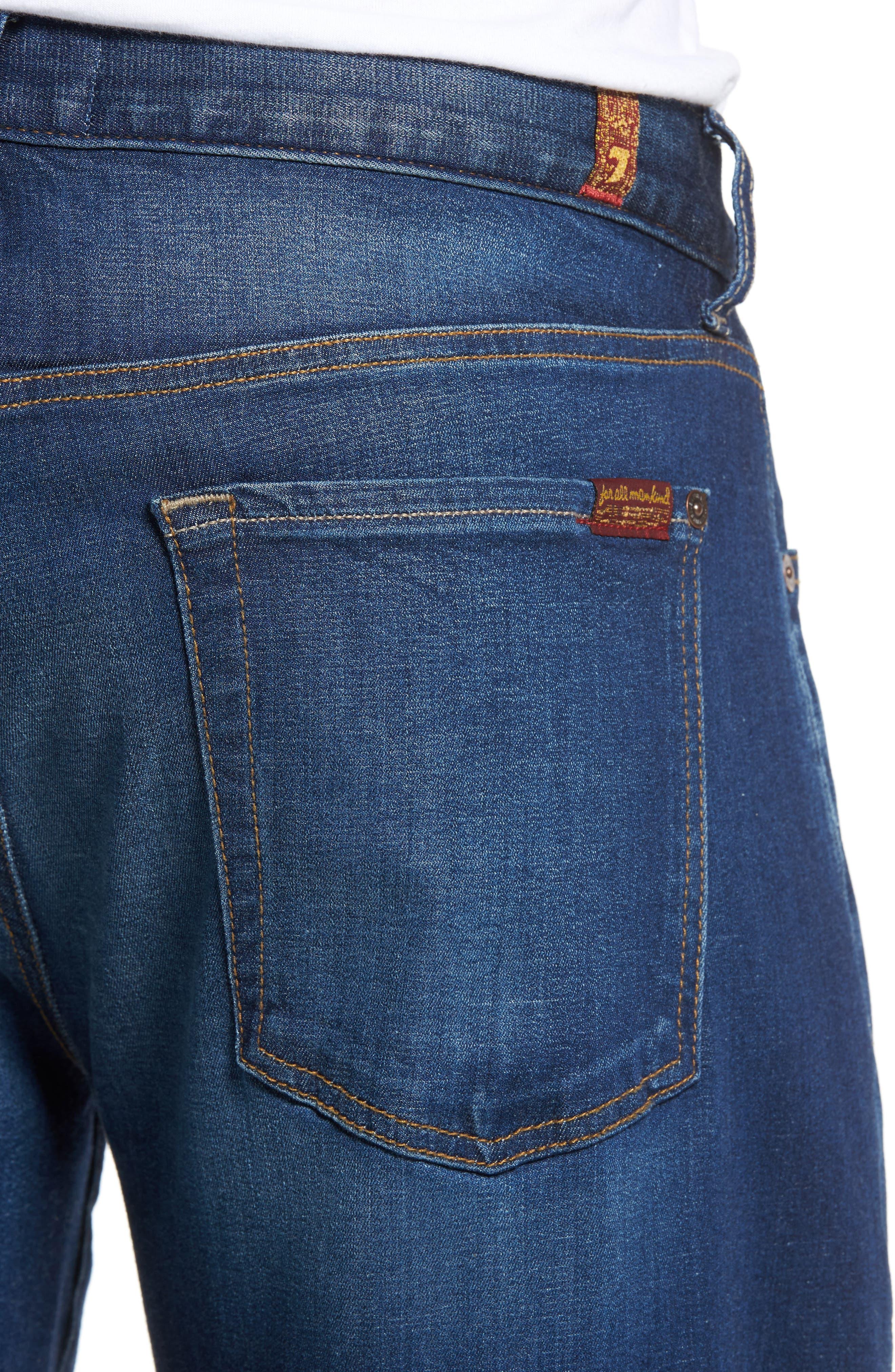 Alternate Image 4  - 7 For All Mankind® Slimmy Slim Fit Jeans (MOMT-Momentum)