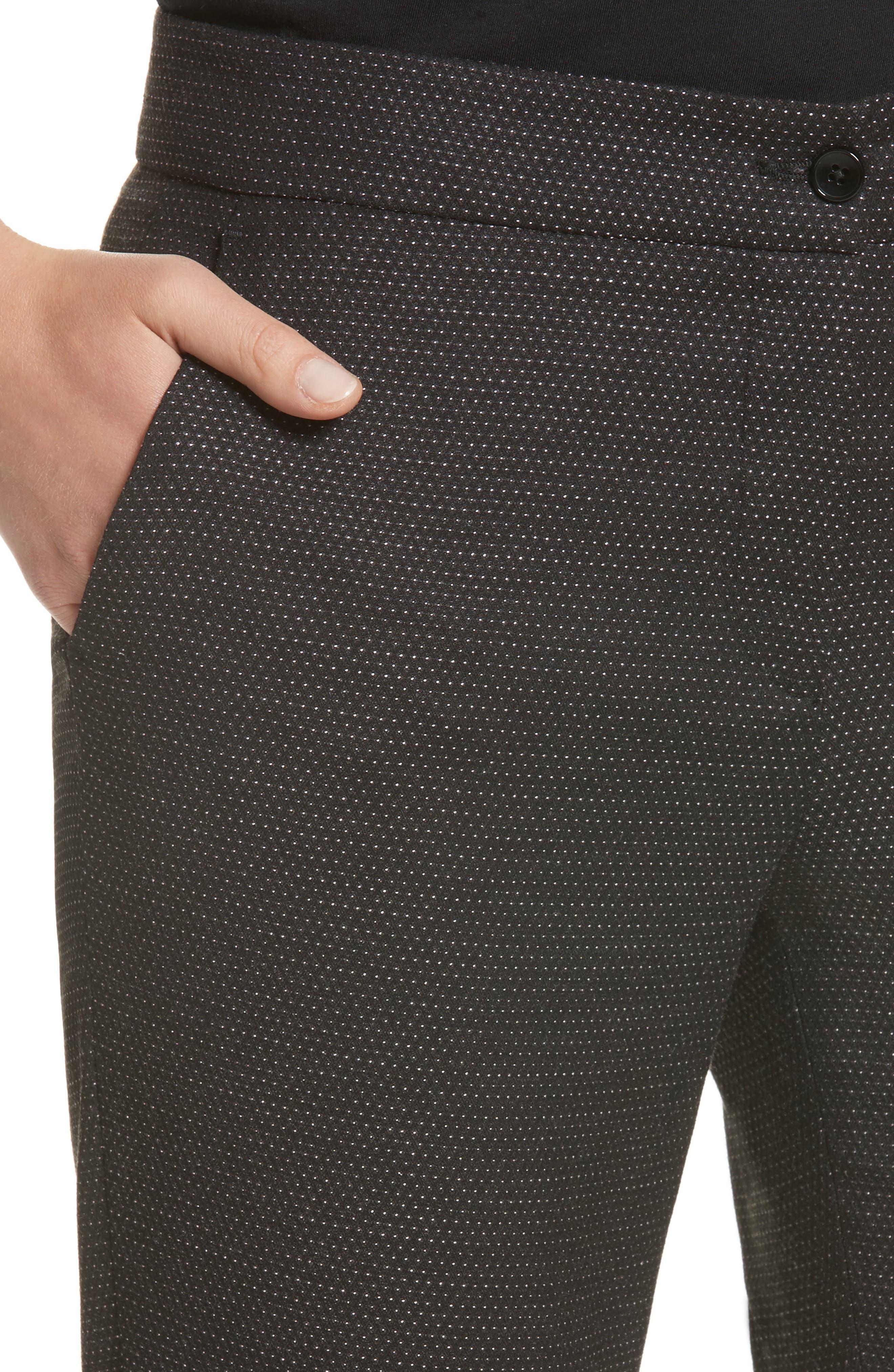 Alternate Image 6  - Etro Dot Wool Blend Crop Pants