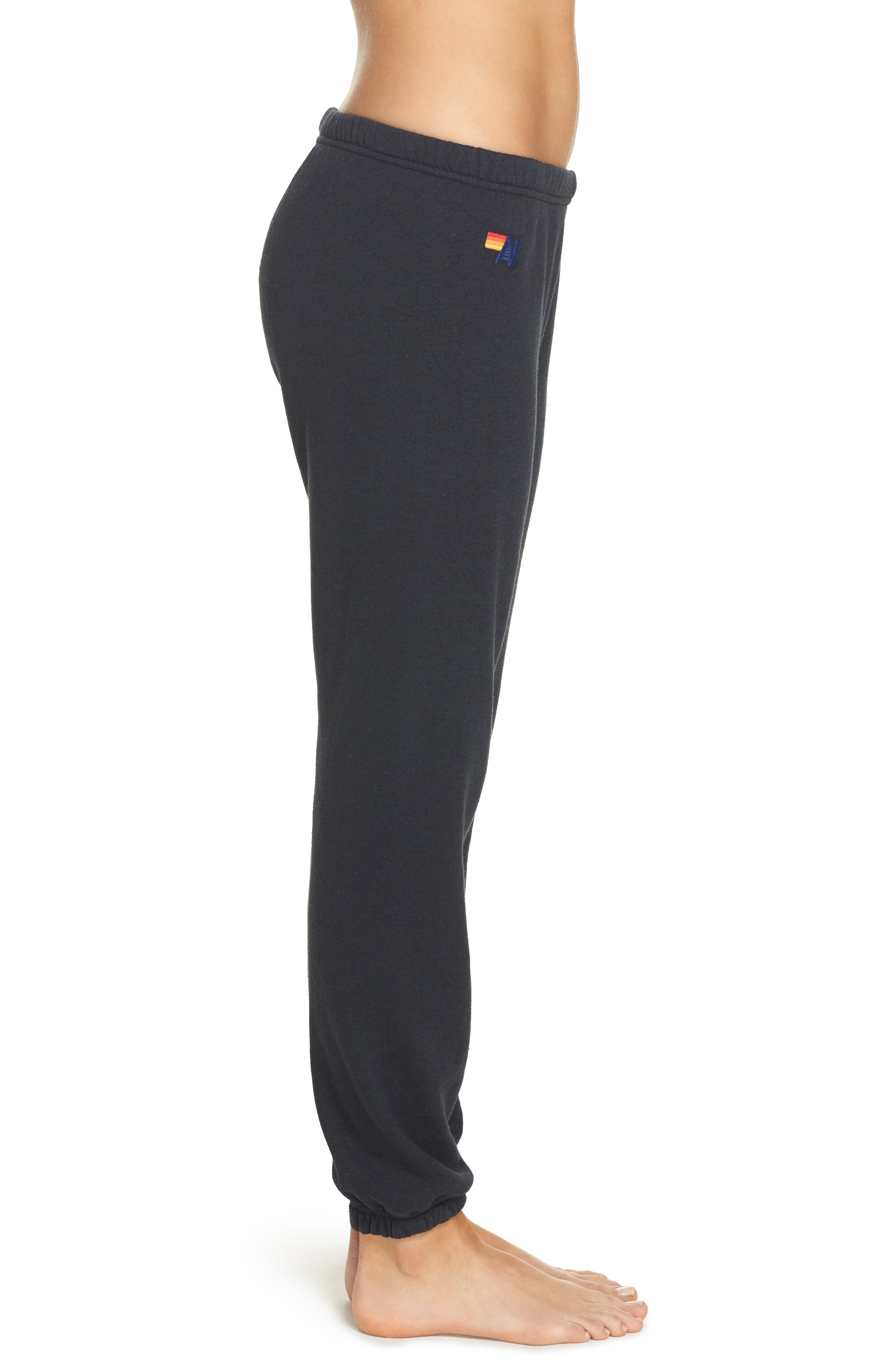 Alternate Image 3  - Aviator Nation Stripe Sweatpants