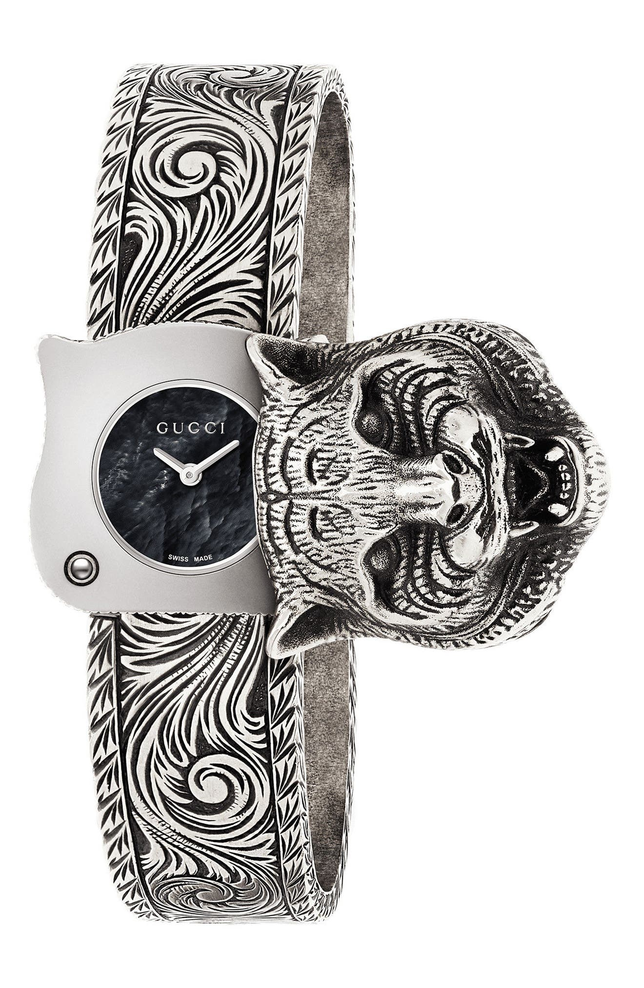 Main Image - Gucci Le Marché Des Merveilles Bangle Watch, 22mm