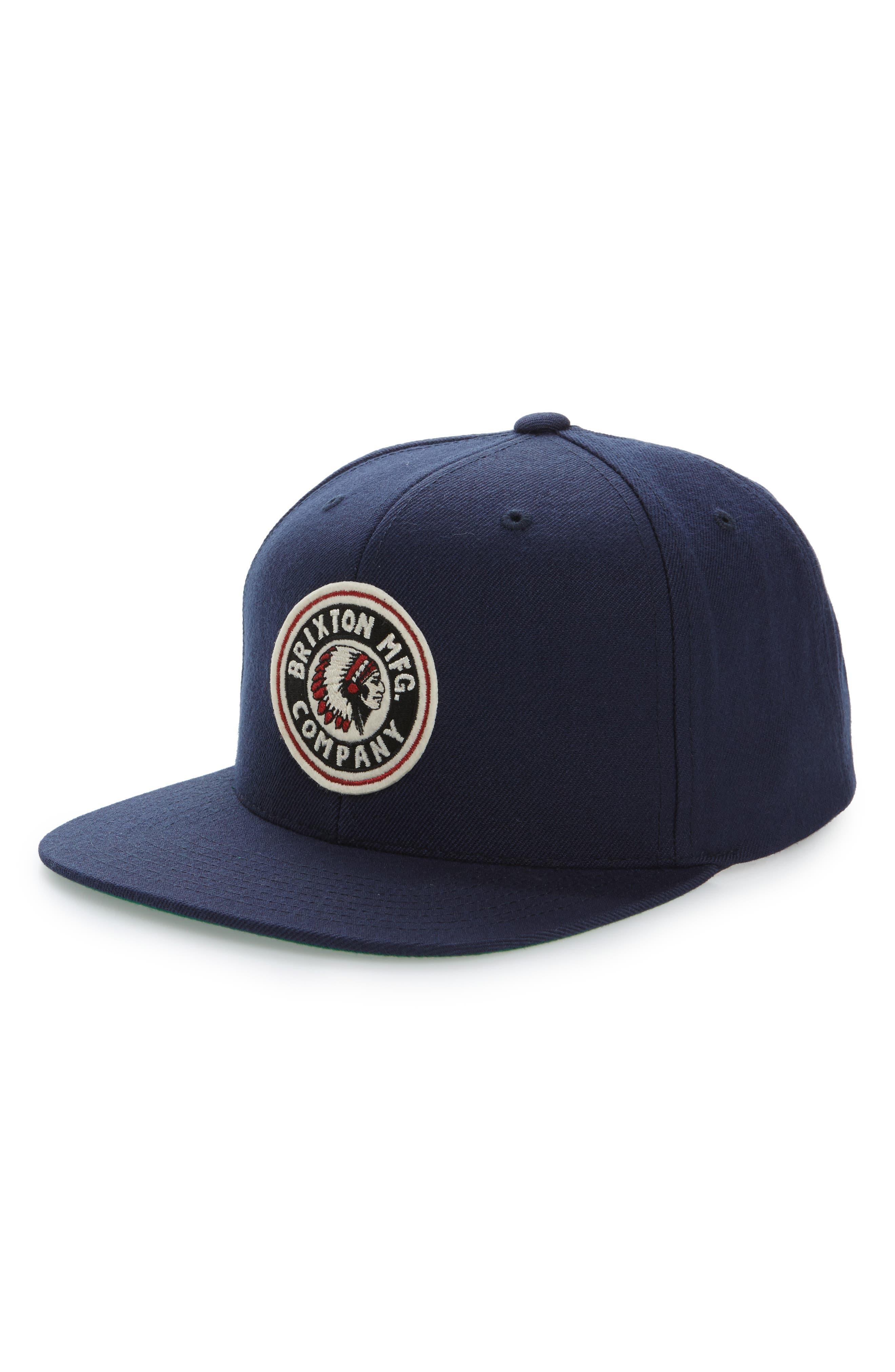 Brixton Rival Snapback Baseball Cap