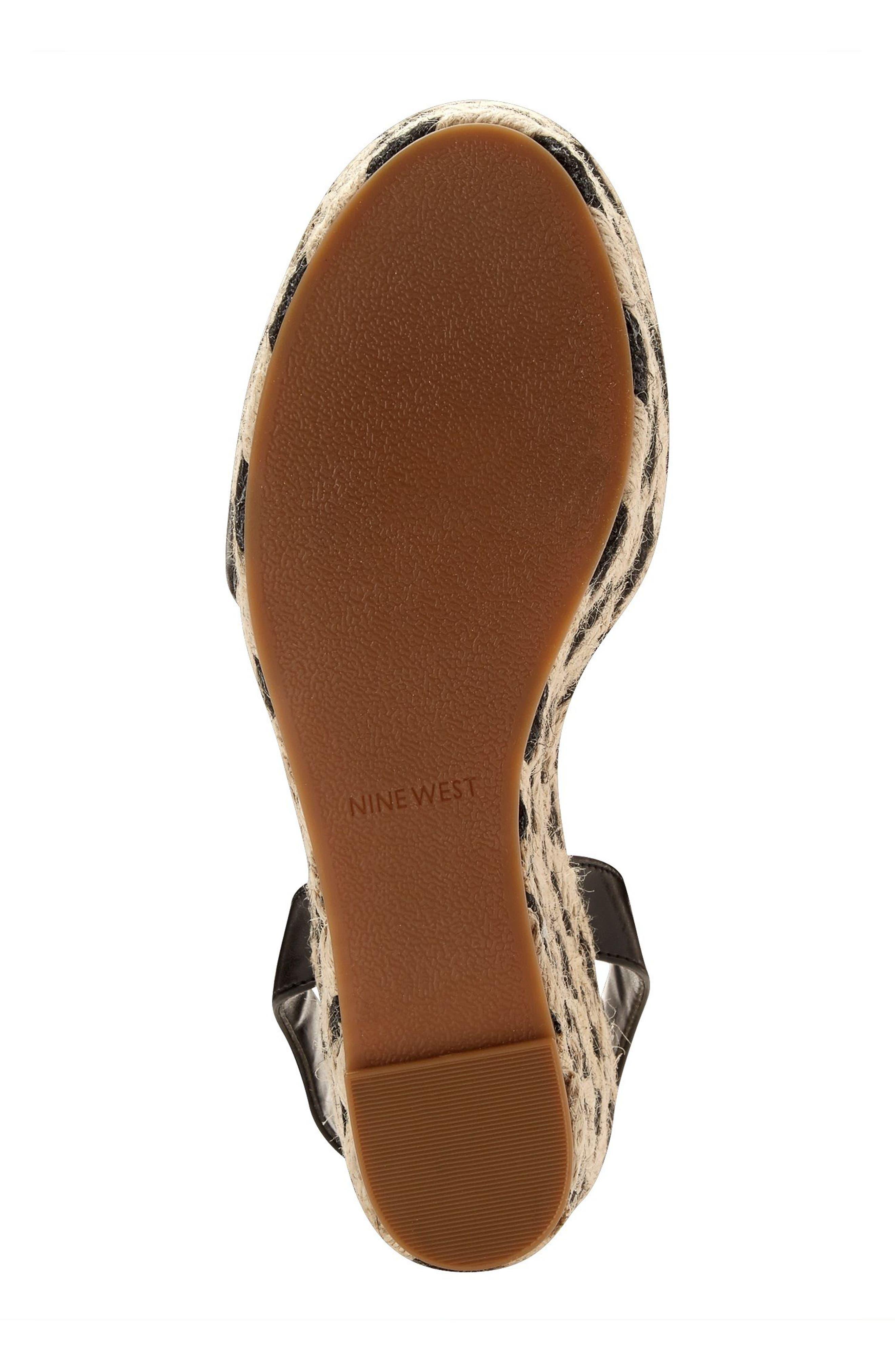 Alternate Image 5  - Nine West Do It Right Platform Wedge Sandal (Women)
