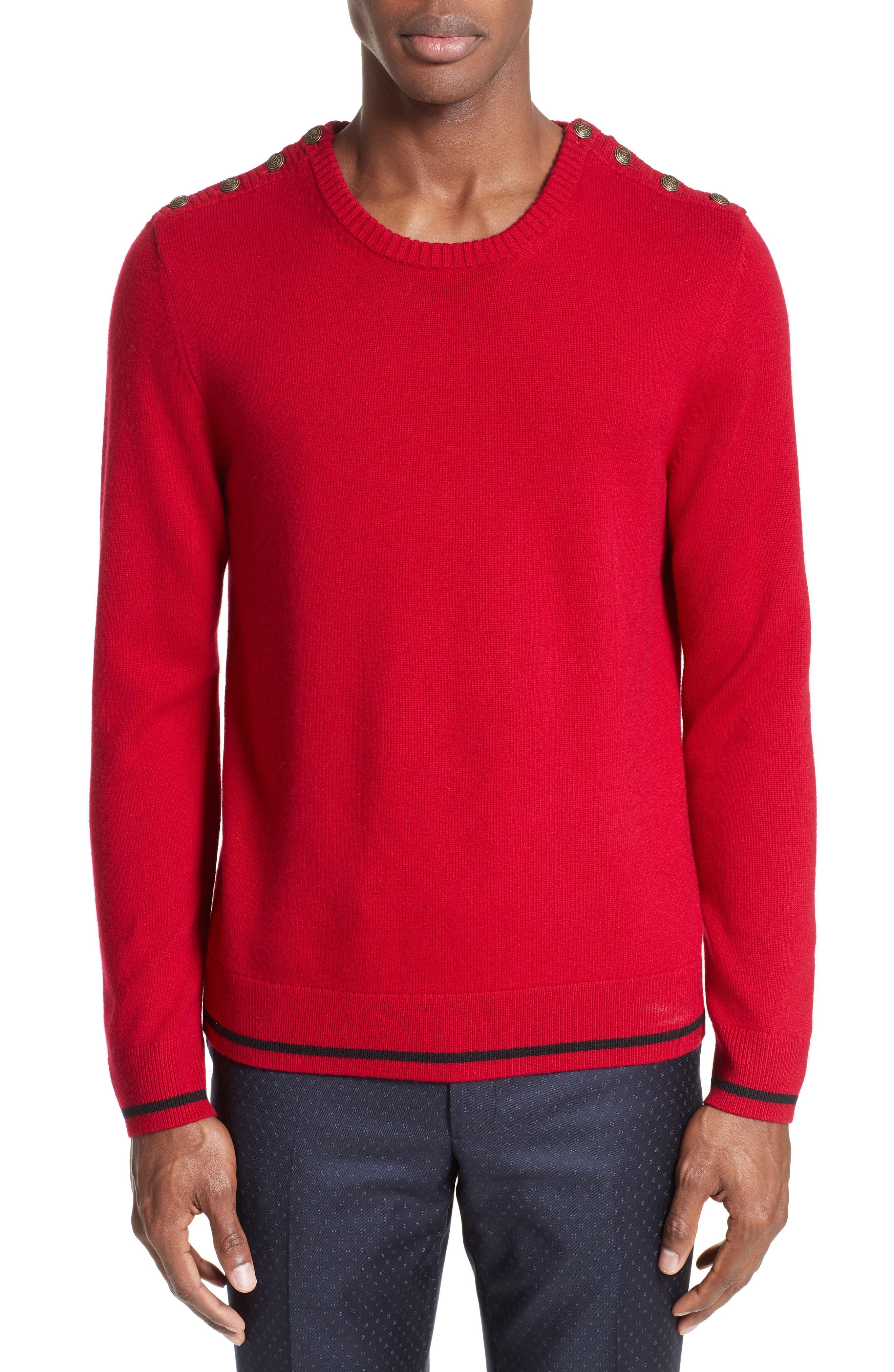 The Kooples Shoulder Placket Sweater