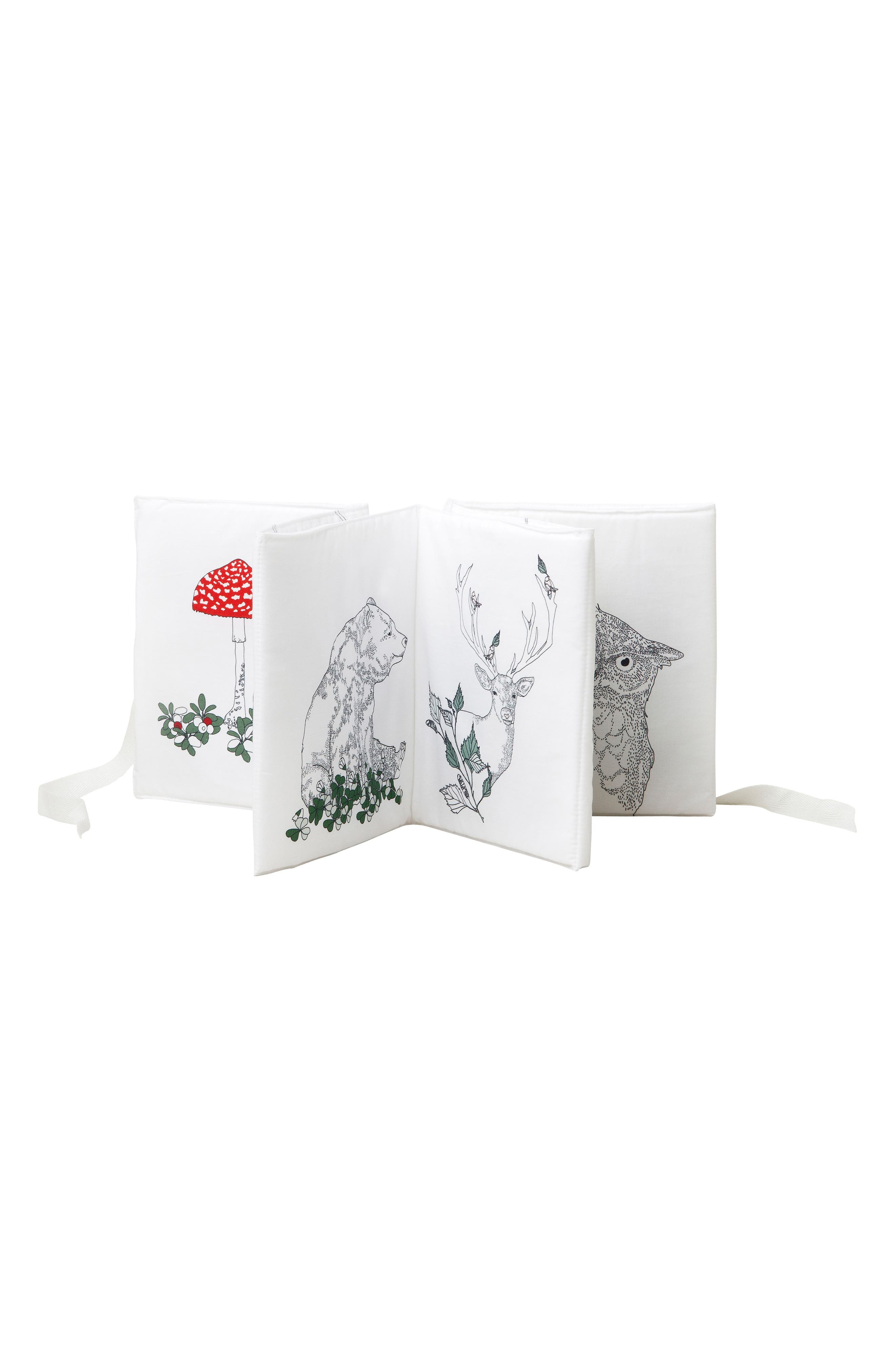 Alternate Image 3  - Garbo&Friends Flora & Fauna Fabric Book