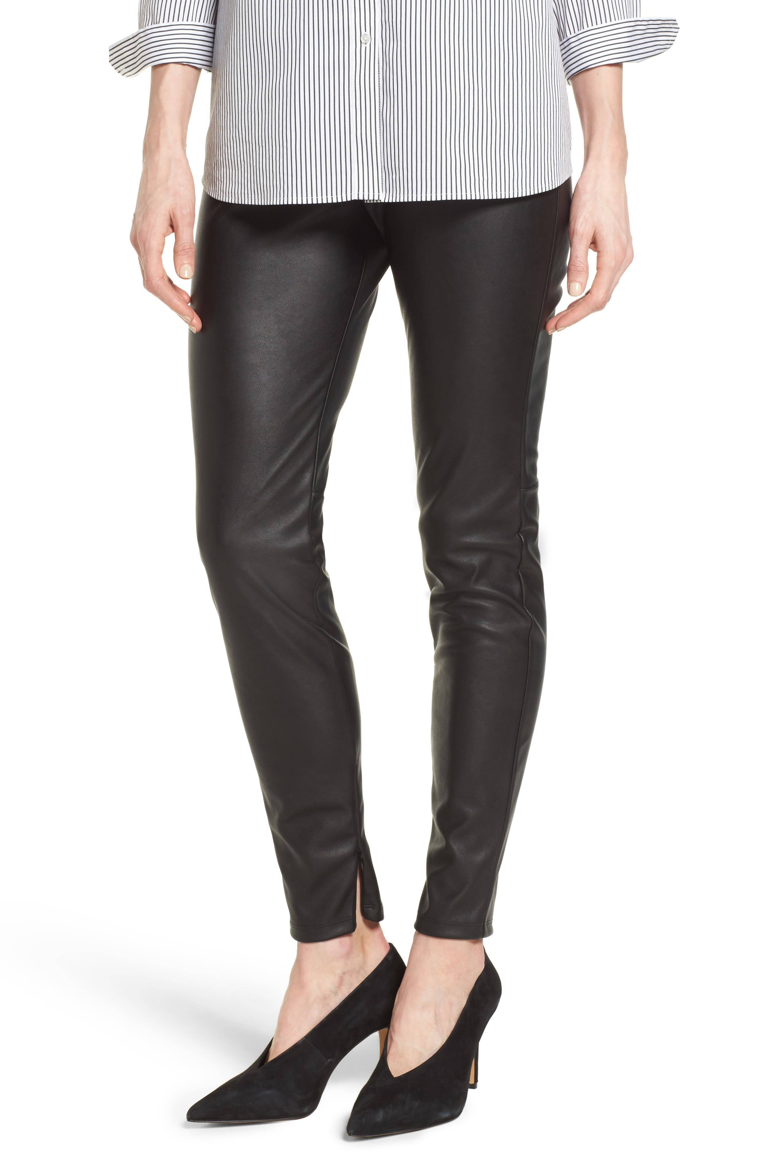 HALOGEN<SUP>®</SUP> Faux Leather Leggings
