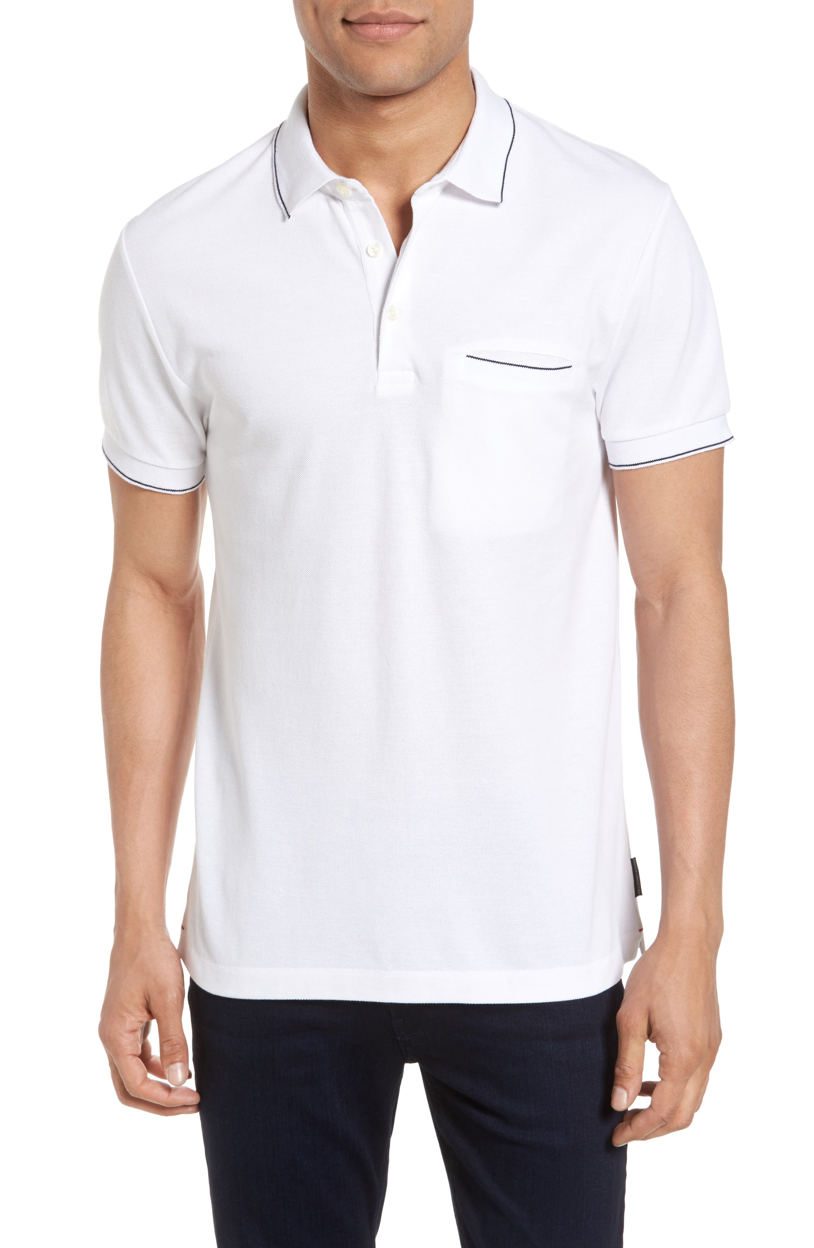 Main Image - French Connection Piqué Polo