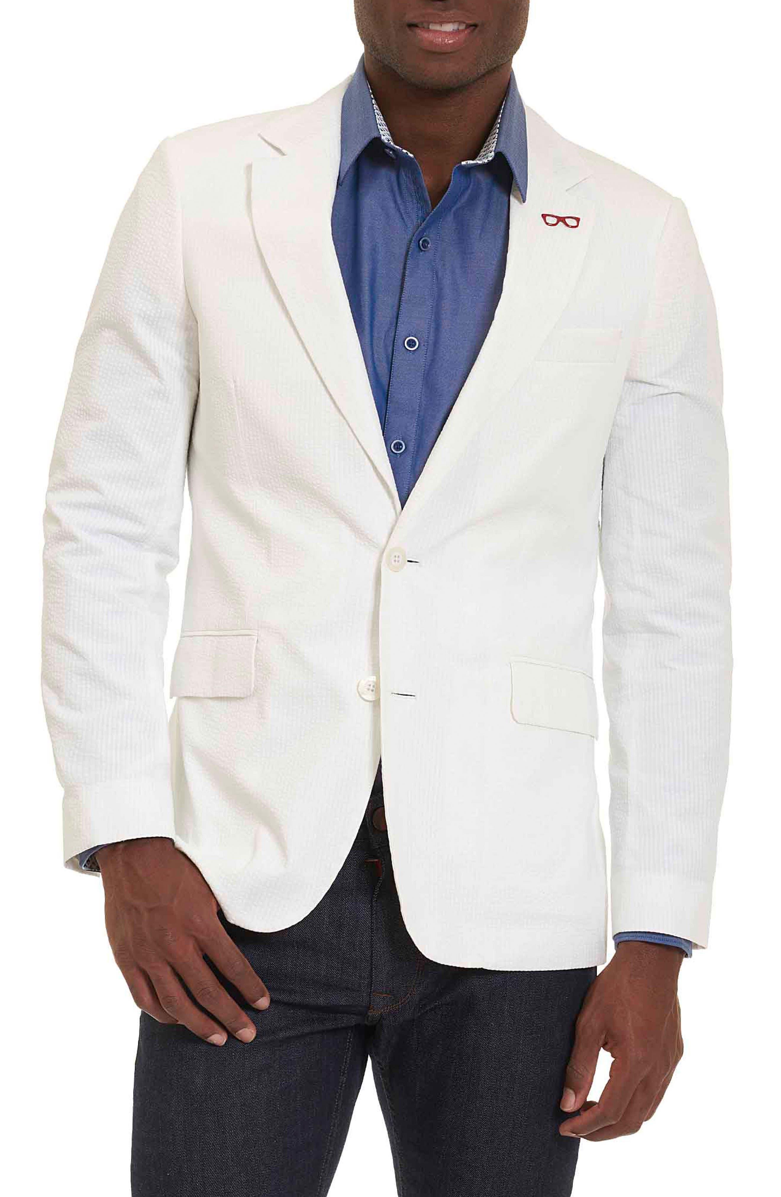 Castroville Classic Fit Sport Coat,                             Main thumbnail 1, color,                             White