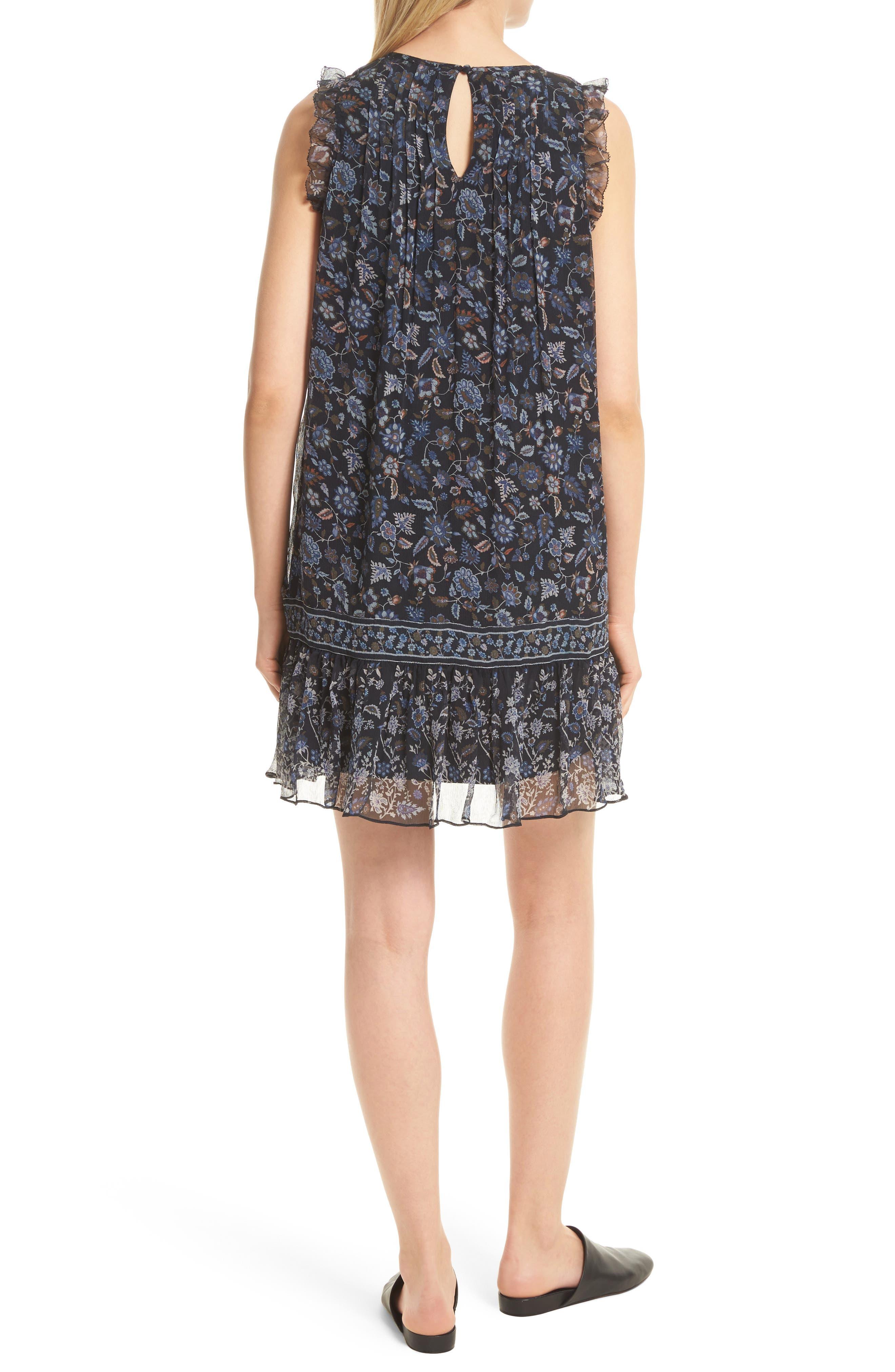 Alternate Image 2  - Joie Tahoma B Print Silk Dress