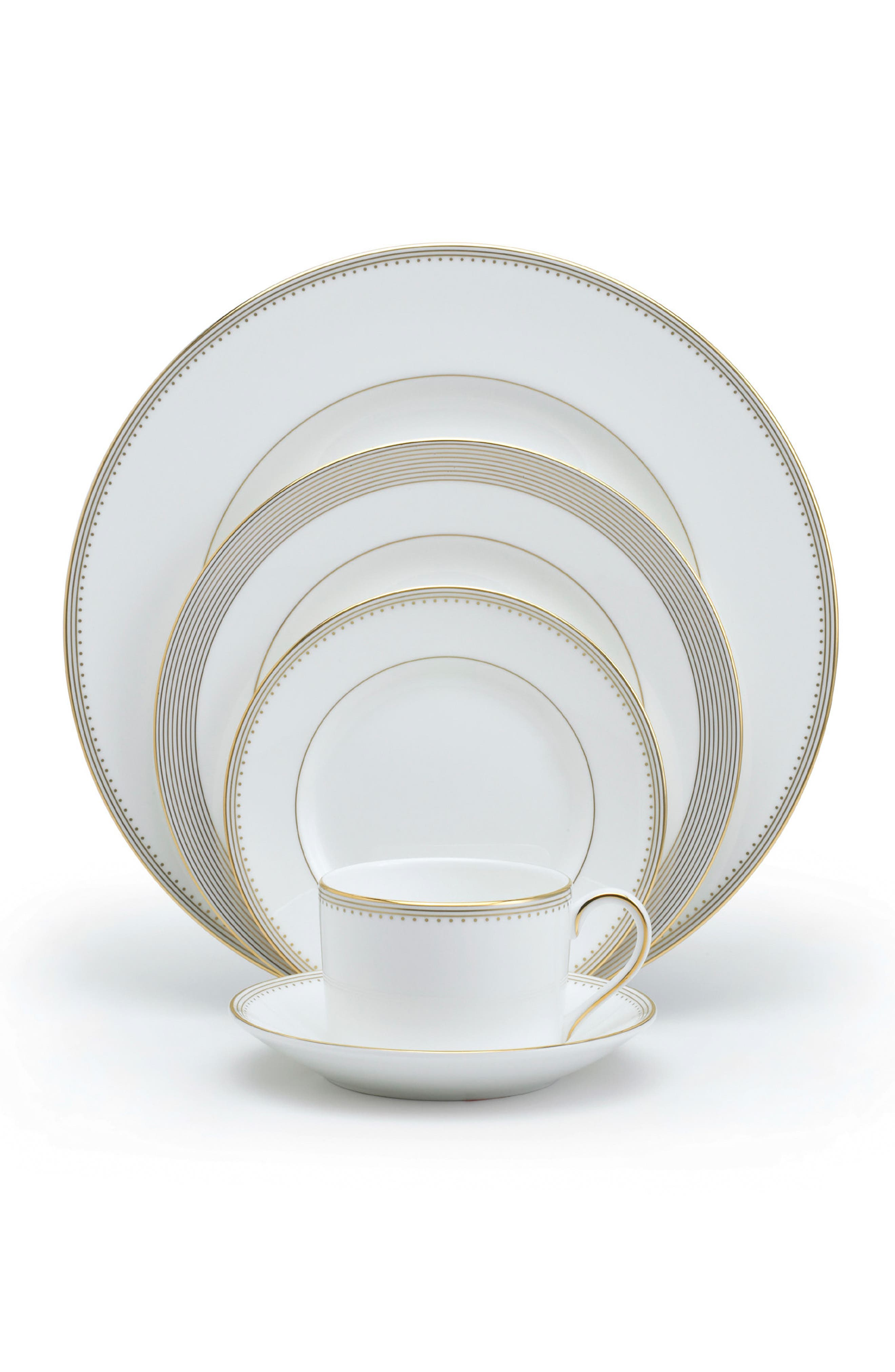 Main Image - Vera Wang 5-Piece Bone China Dinnerware Place Setting