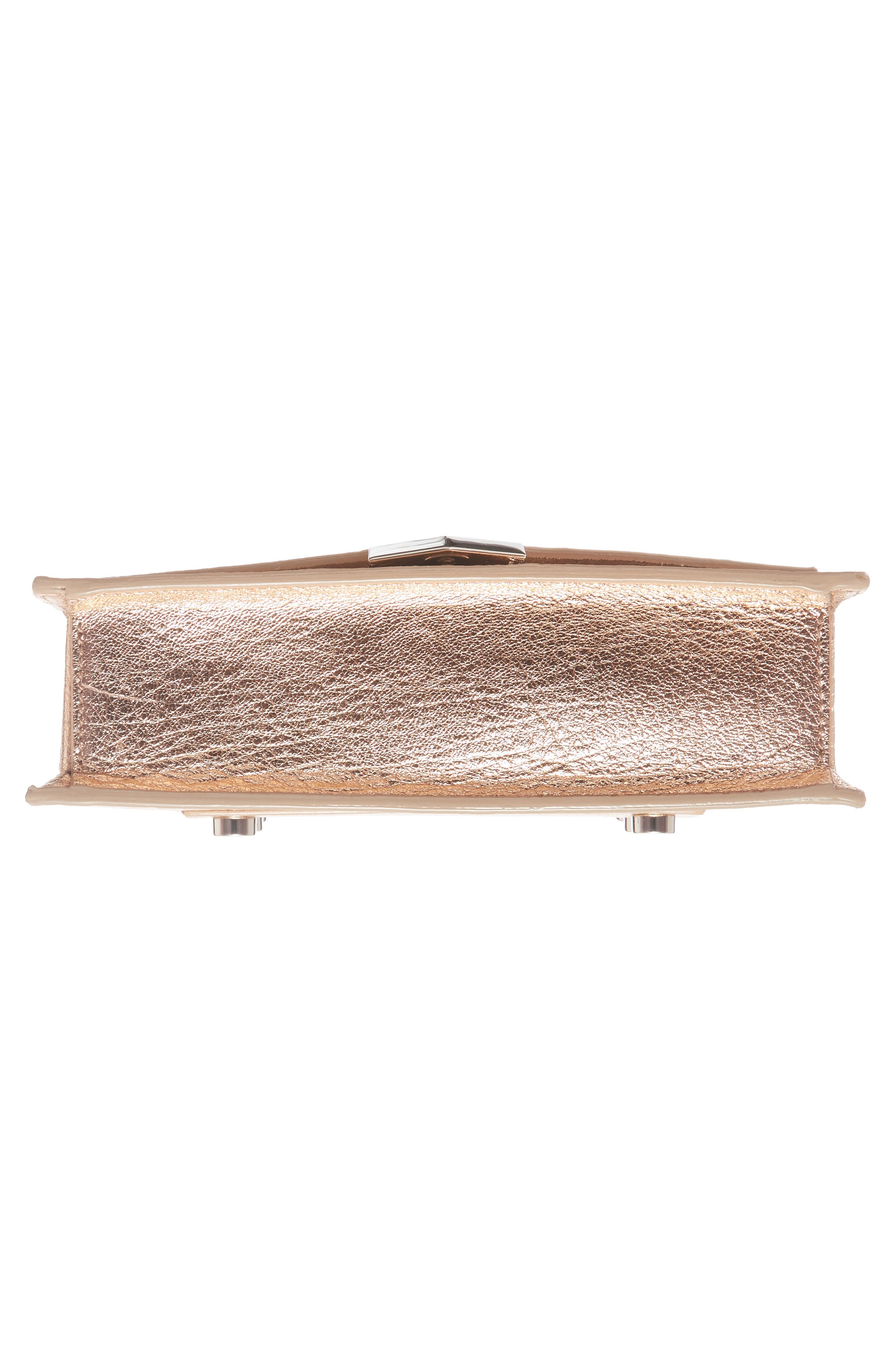 Alternate Image 4  - Jimmy Choo Leila Grainy Lambskin Leather Crossbody Bag