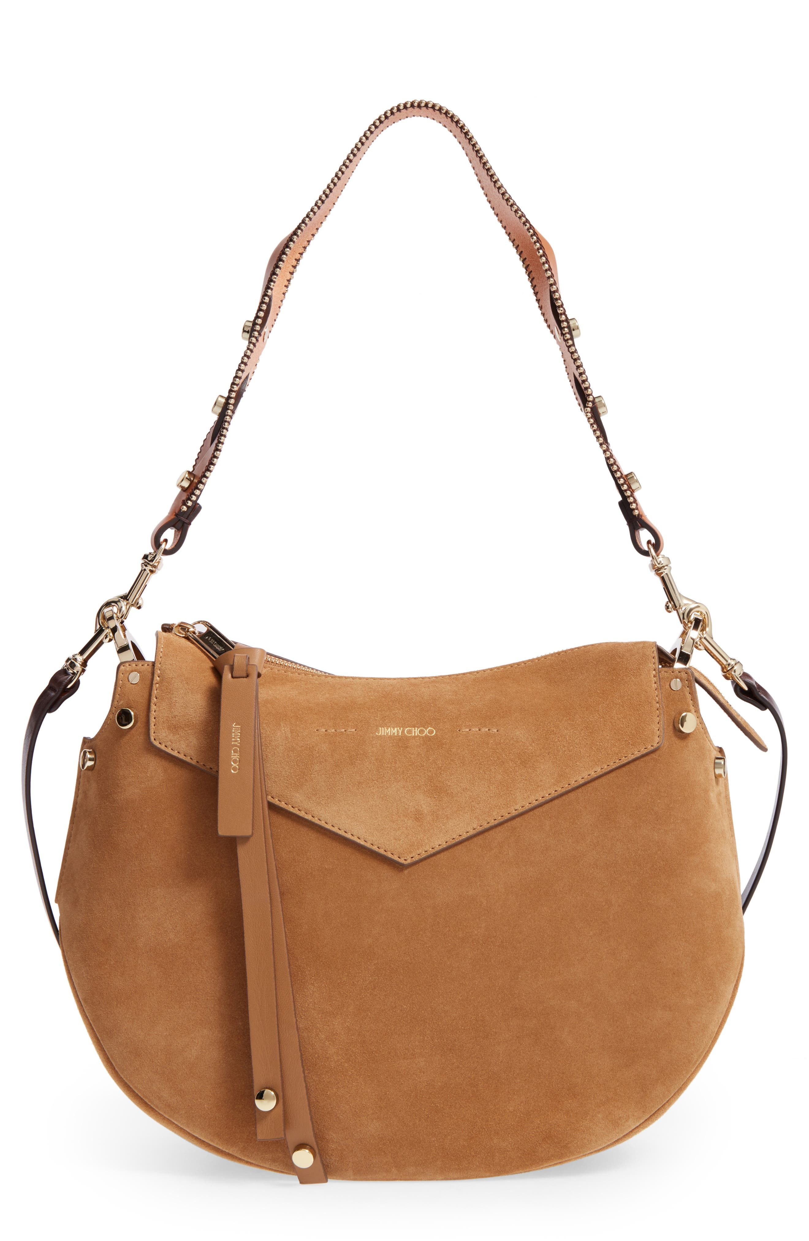 Alternate Image 1 Selected - Jimmy Choo Artie Suede Hobo Bag
