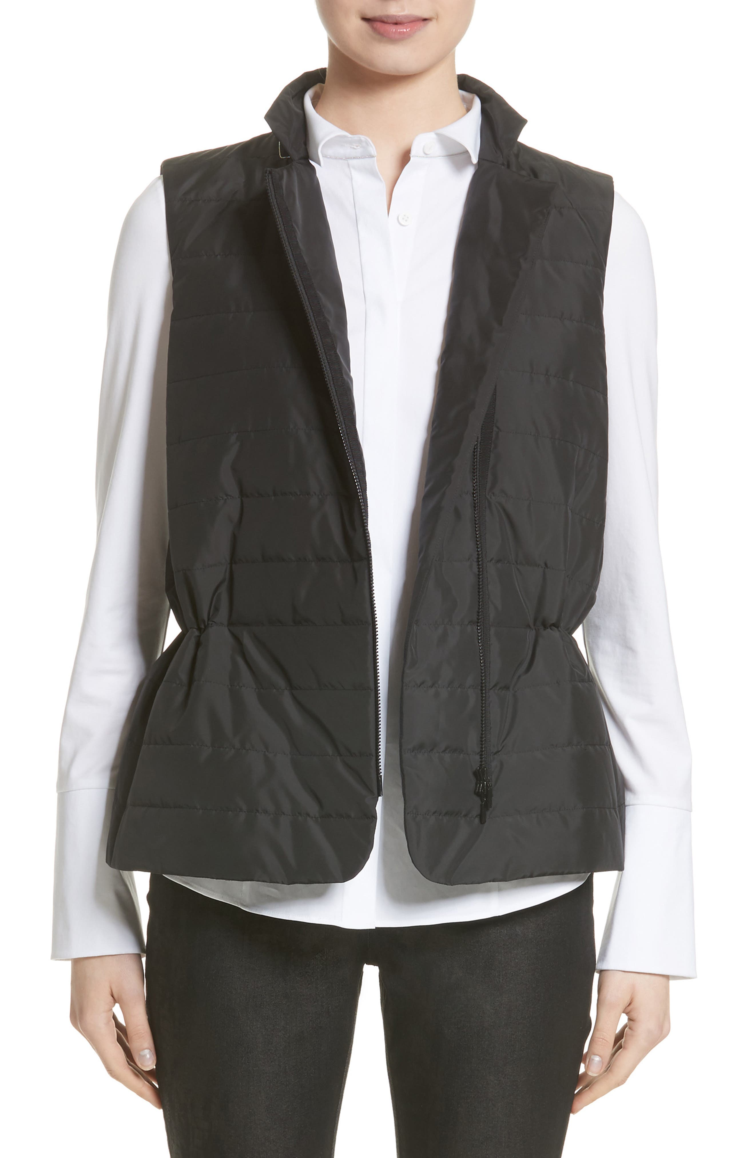 Lafayette 148 New York Avery Quilted Vest (Nordstrom Exclusive)