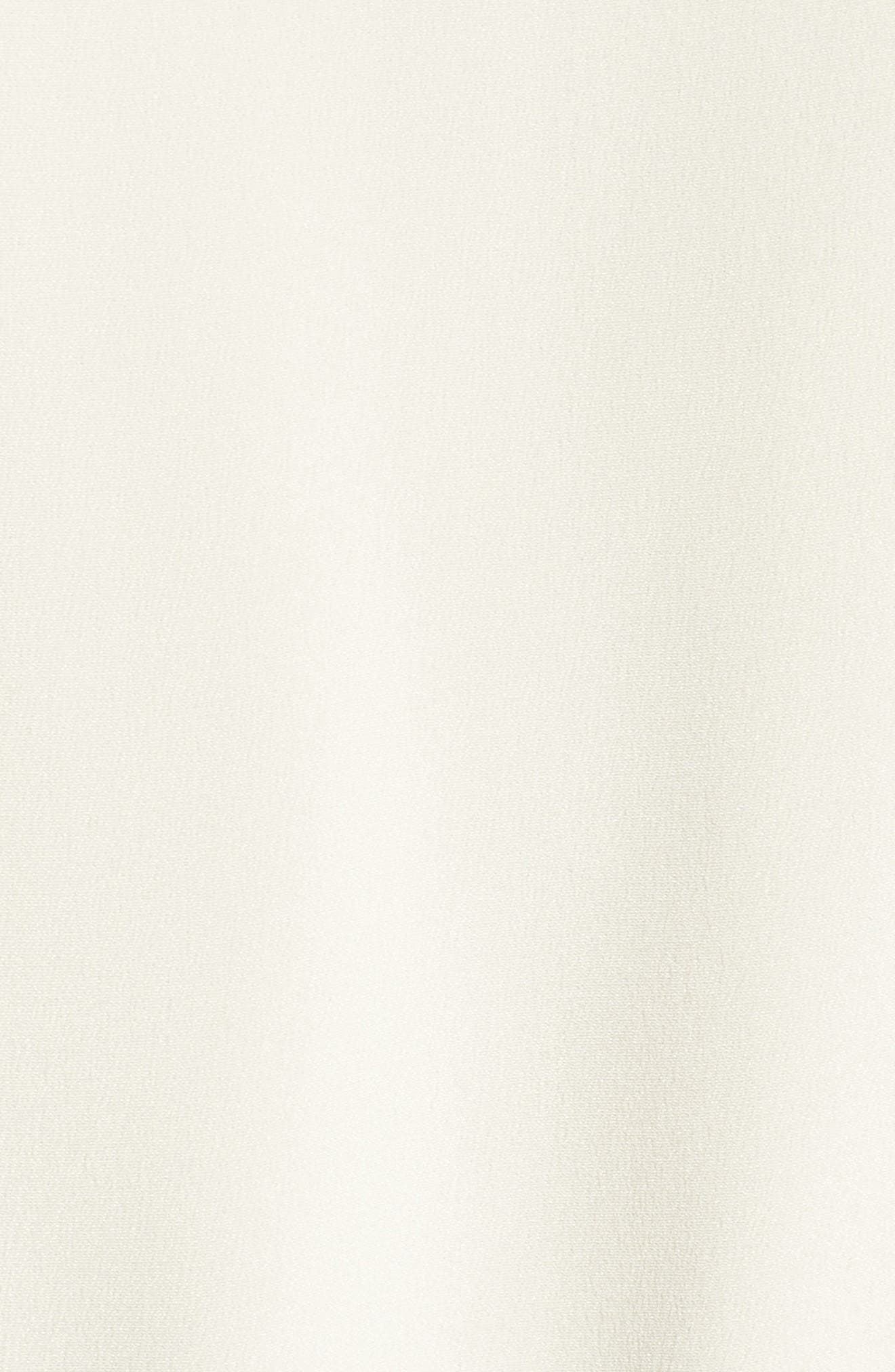 Harbor Silk Jacket,                             Alternate thumbnail 5, color,                             White Silk
