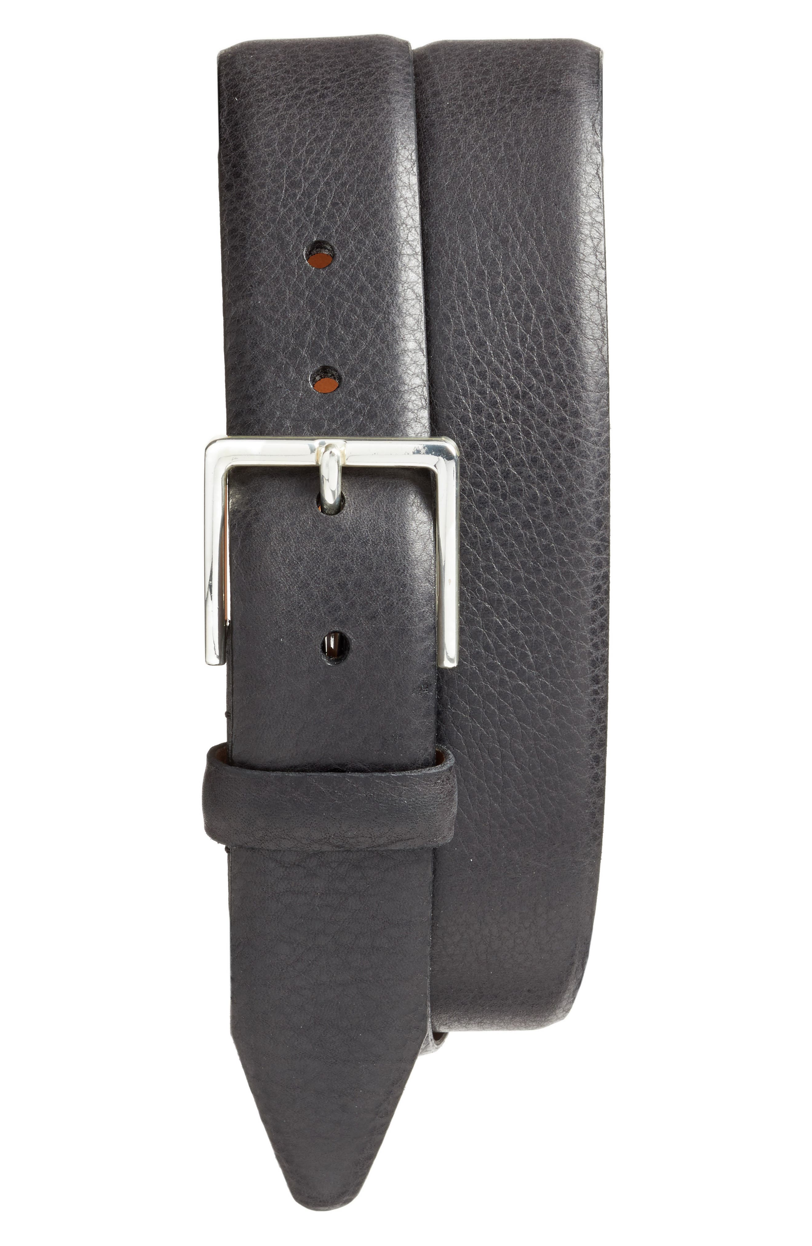 Nordstrom Men's Shop Midland Pebbled Leather Belt