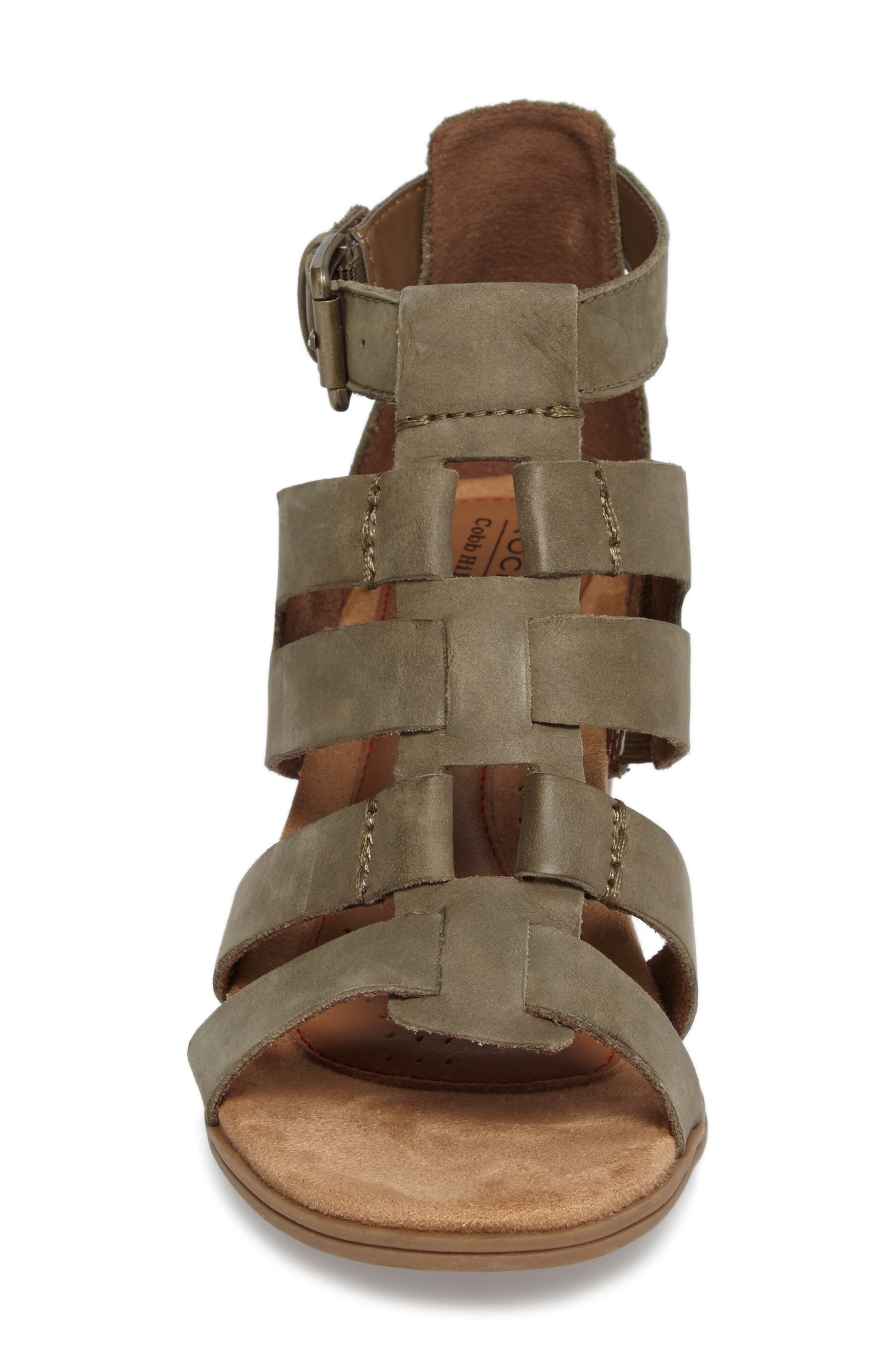 Alternate Image 4  - Rockport Cobb Hill Hattie Block Heel Gladiator Sandal (Women)