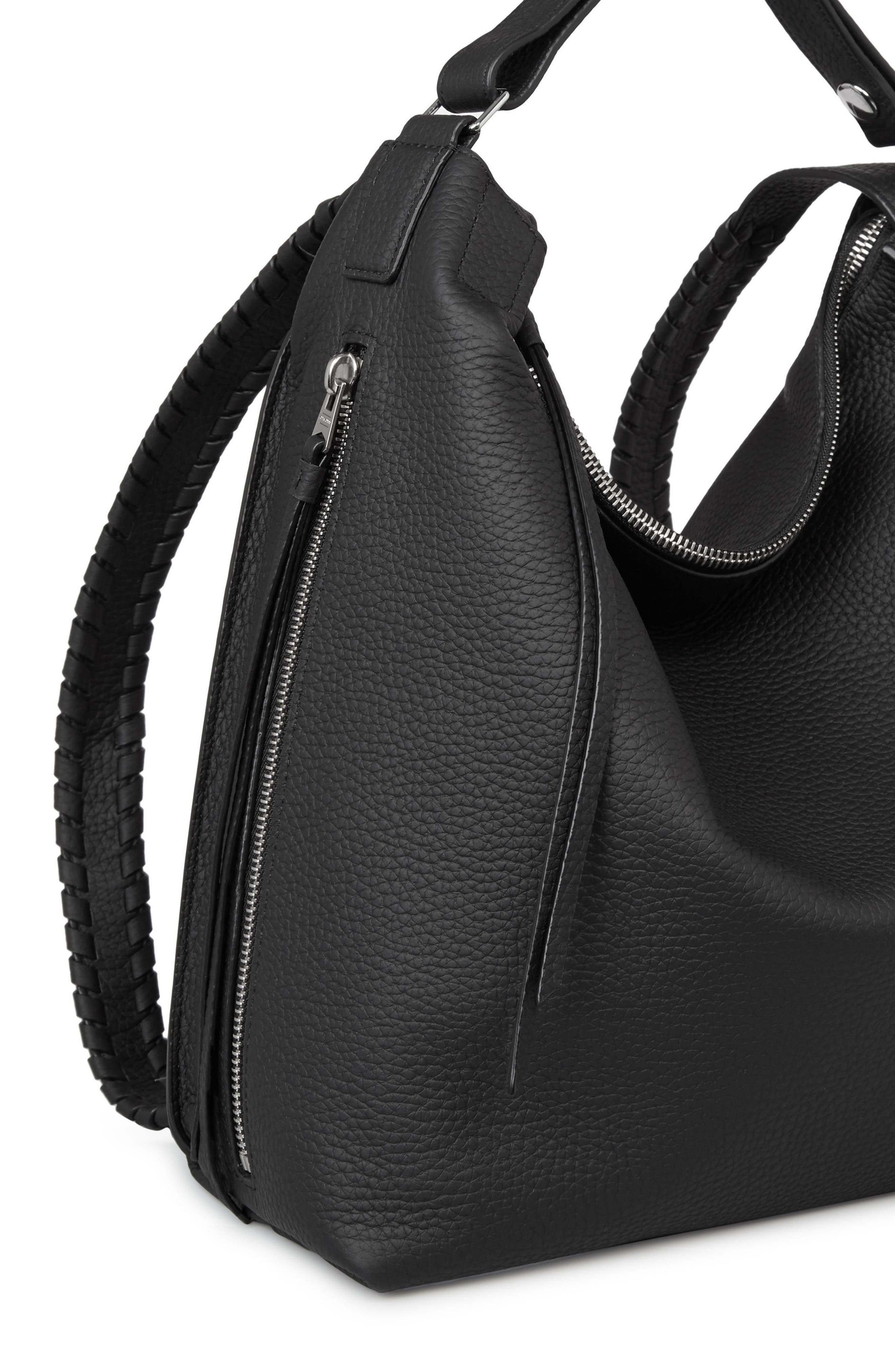 Alternate Image 4  - ALLSAINTS Small Kita Convertible Leather Backpack