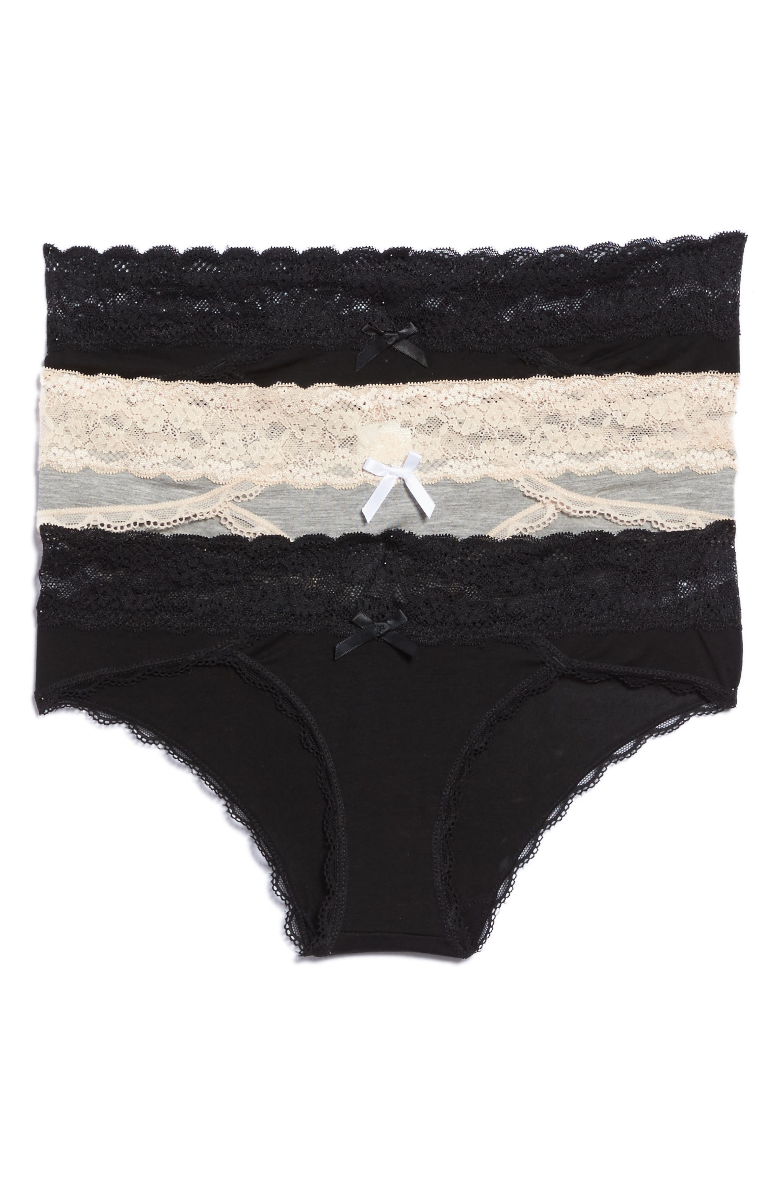 Main Image - Honeydew Intimates 3-Pack Hipster Panties