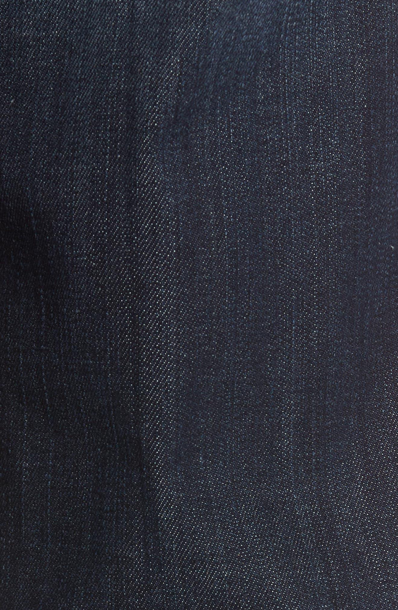 Jimmy Slim Straight Leg Jeans,                             Alternate thumbnail 6, color,                             Scorpion