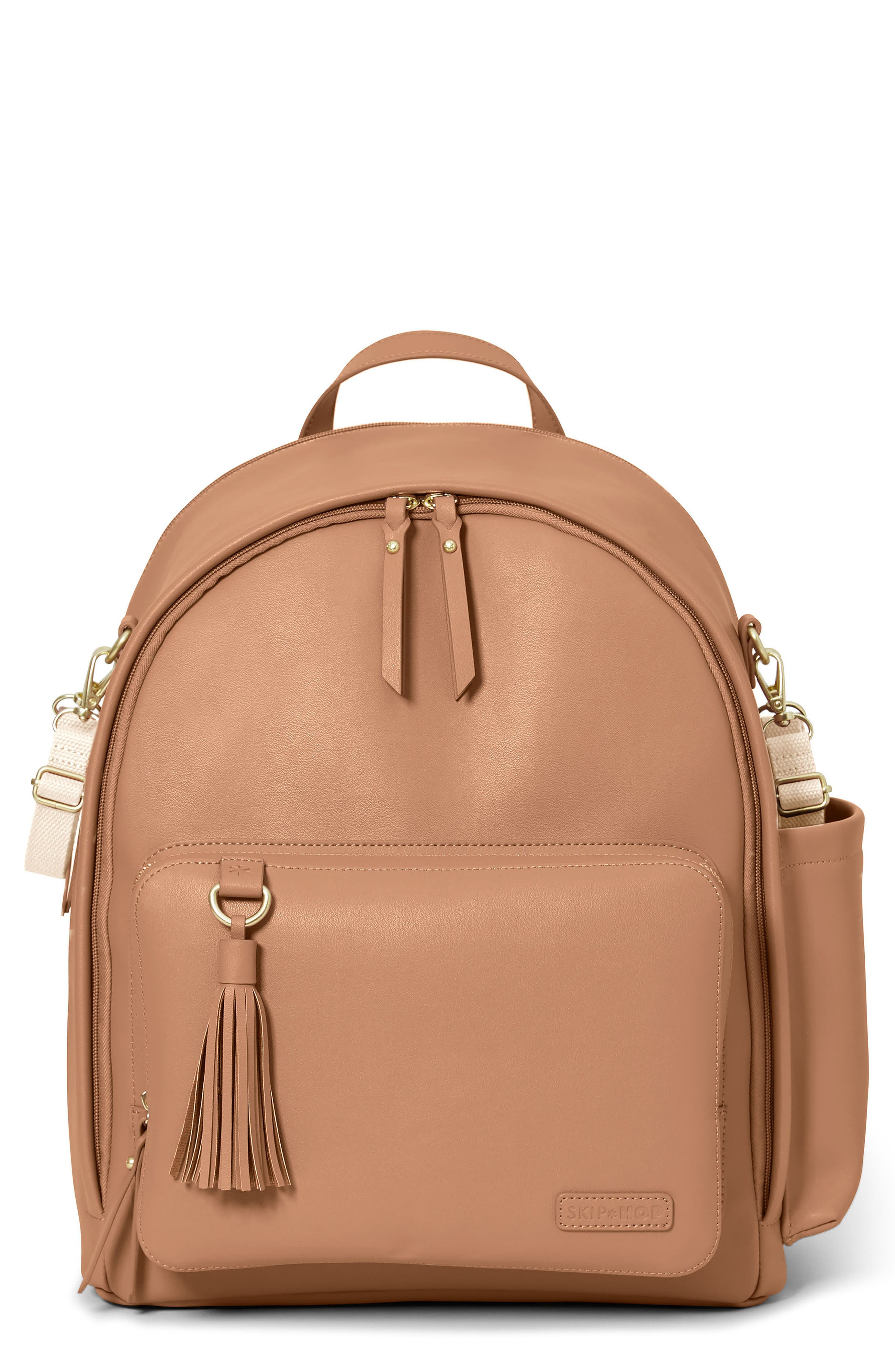 Main Image - Skip Hop Greenwich Simply Chic Diaper Backpack