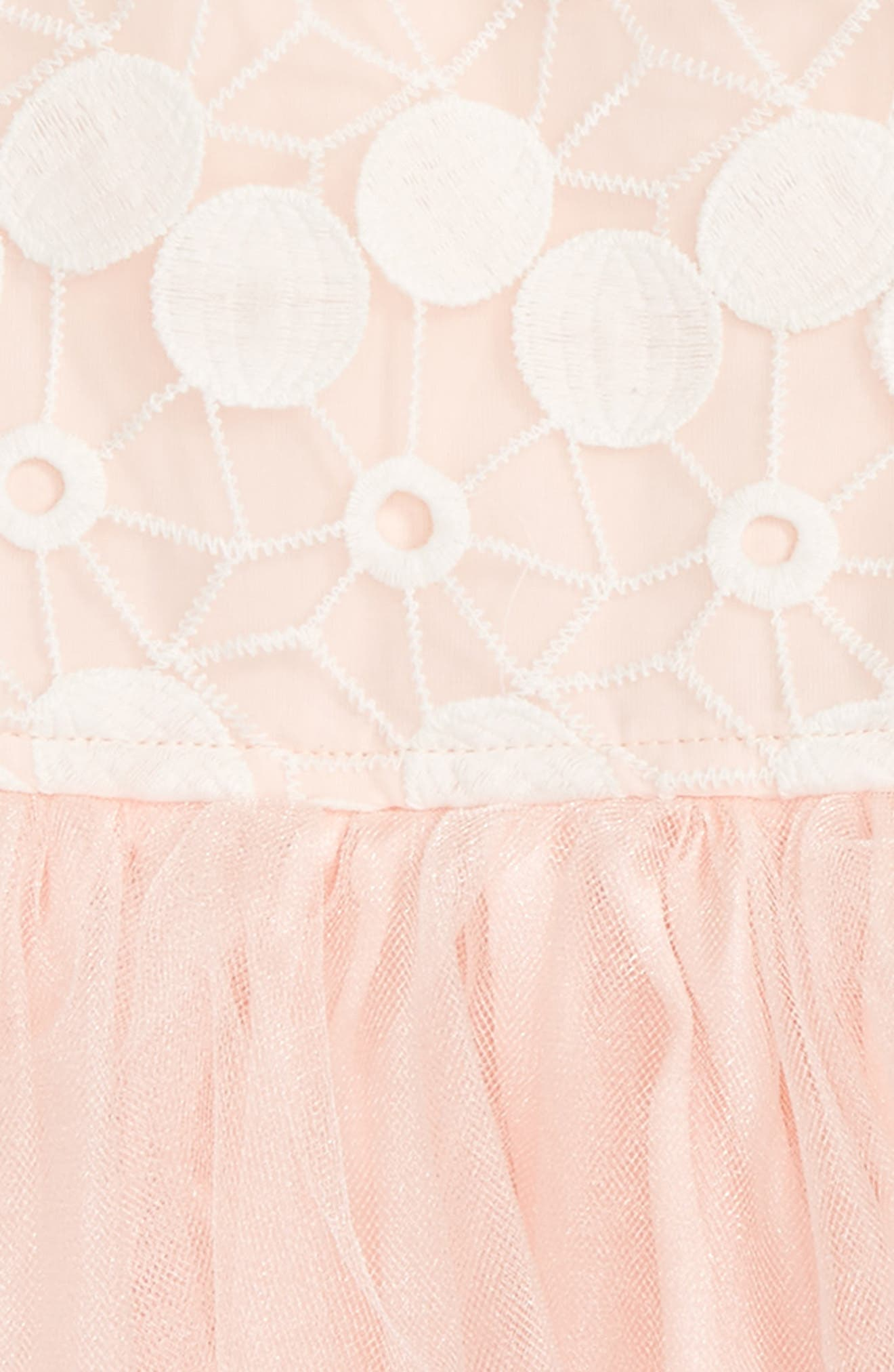 Sleeveless Lace Dress,                             Alternate thumbnail 2, color,                             Dusty Pink