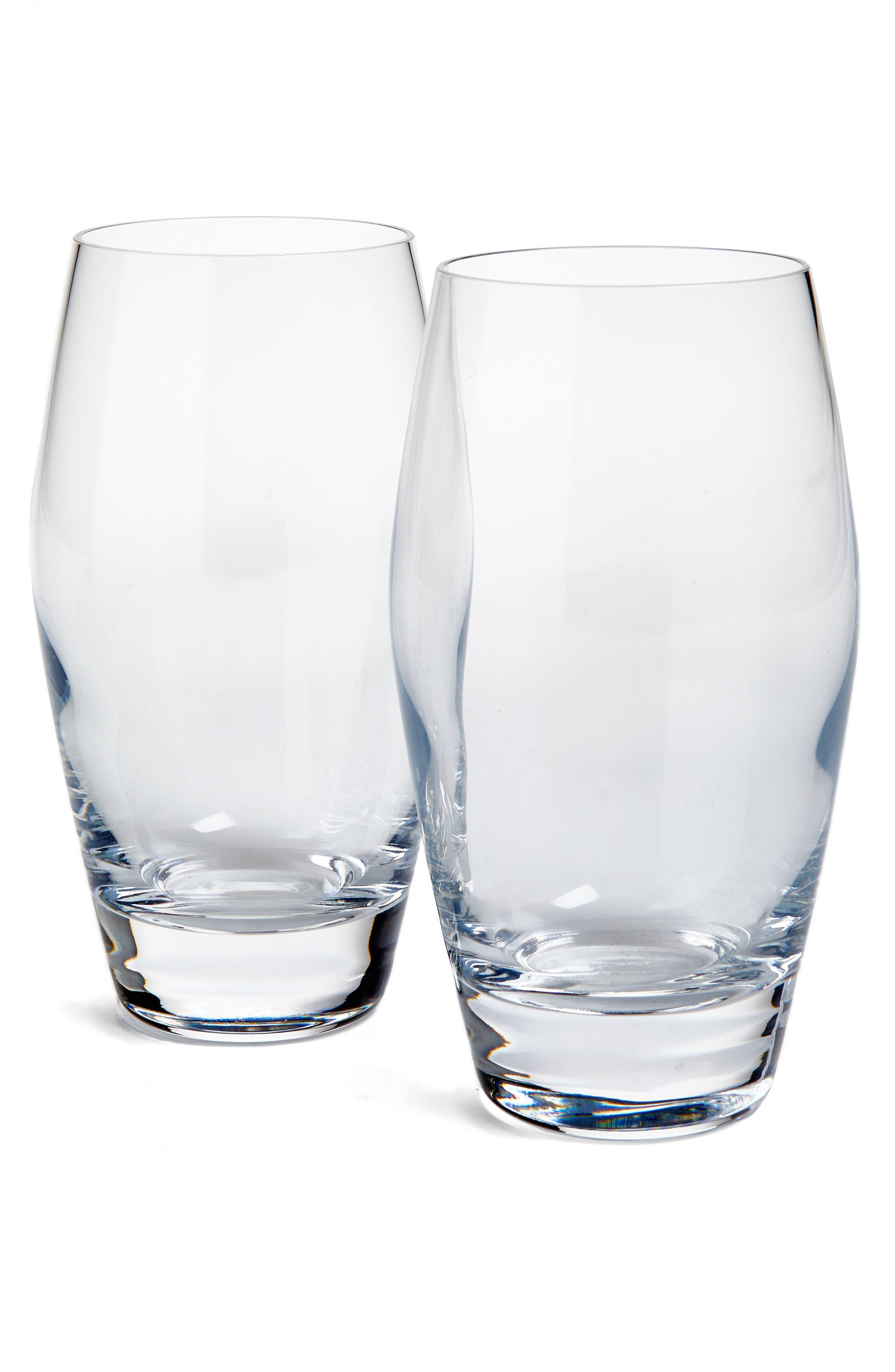 Classico Set of 4 Beverage Glasses,                         Main,                         color, White