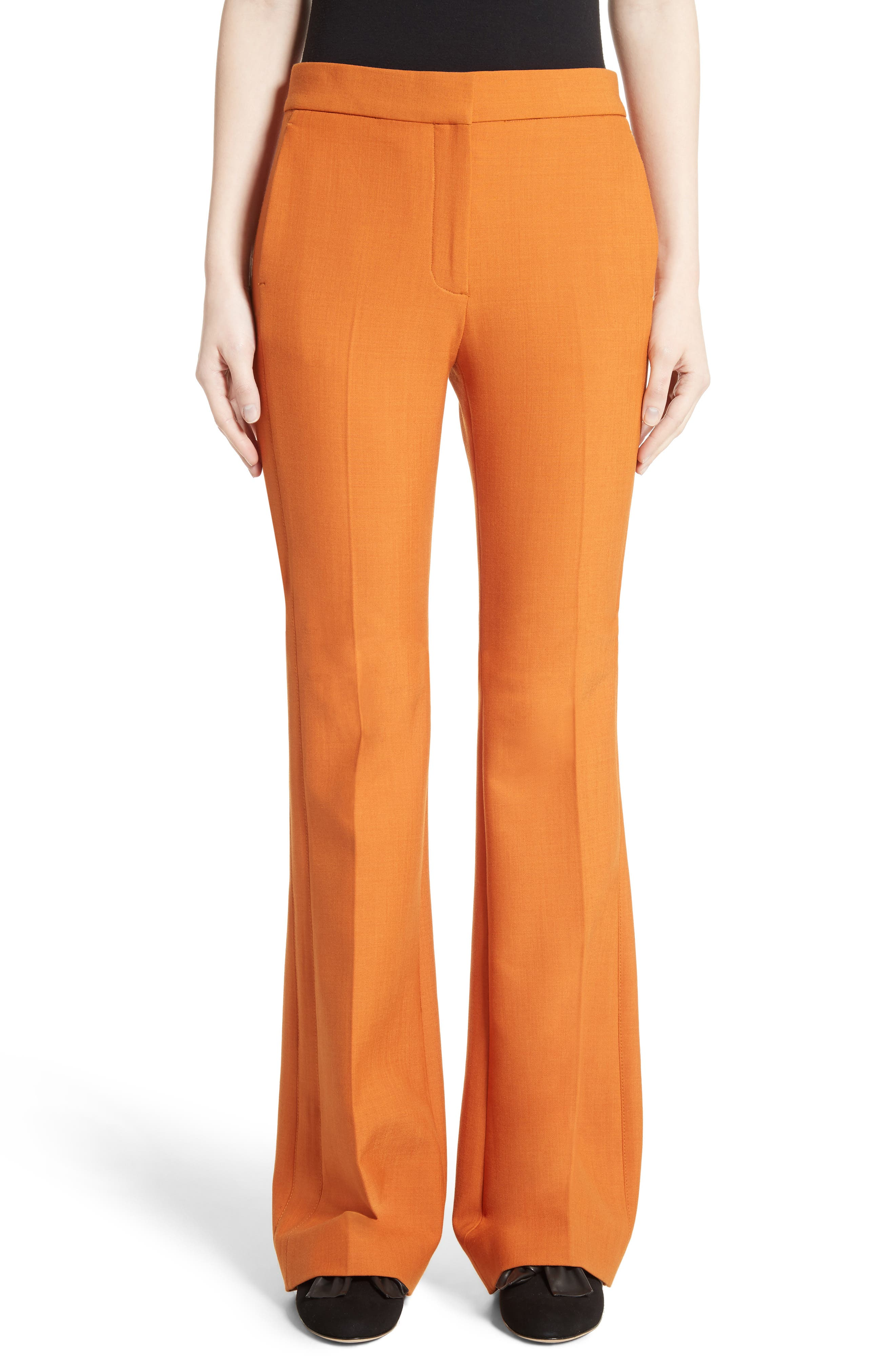 Flare Pants,                         Main,                         color, Maple