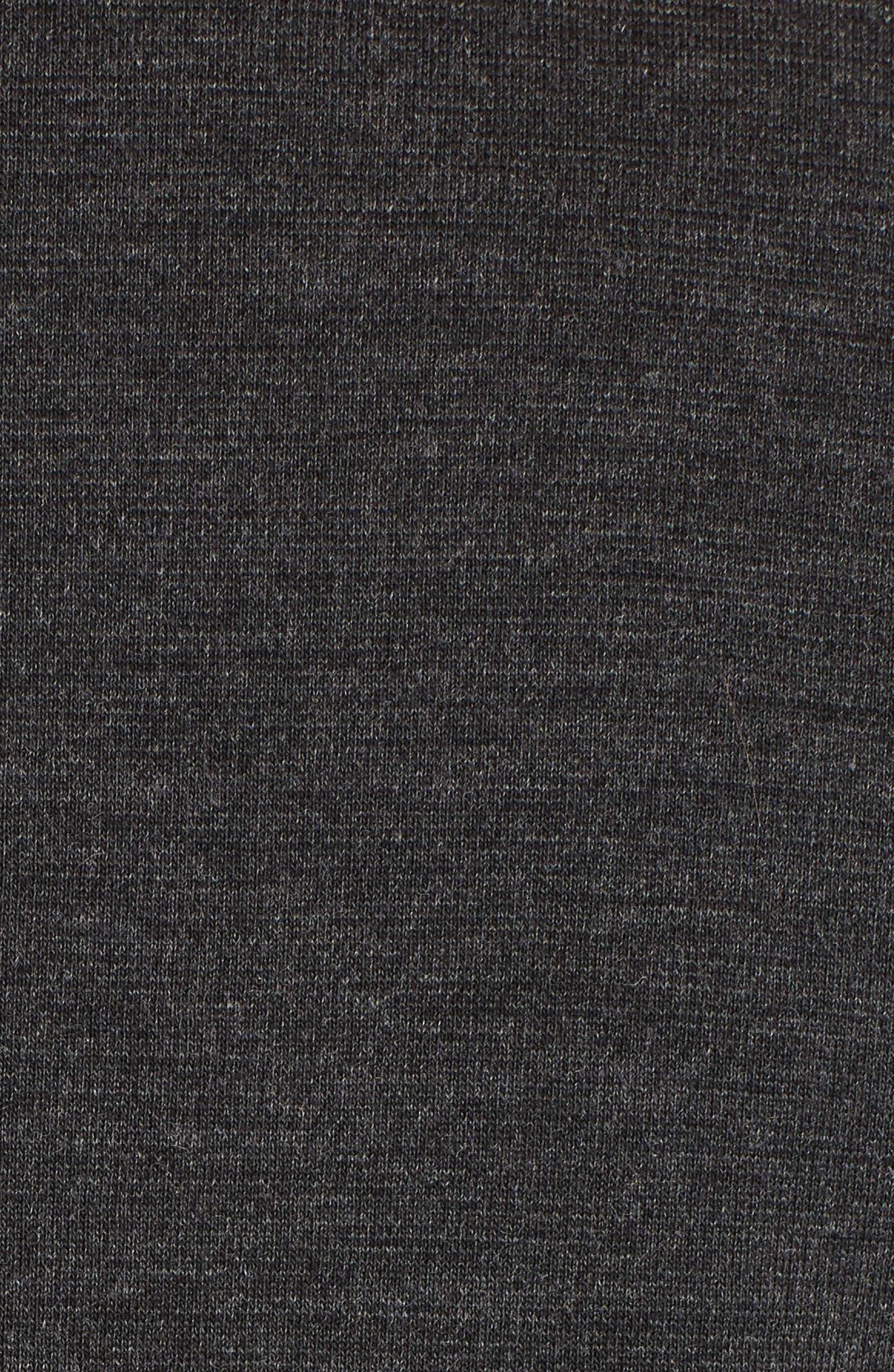 Punto Milano Wool Blazer,                             Alternate thumbnail 5, color,                             Grey Melange
