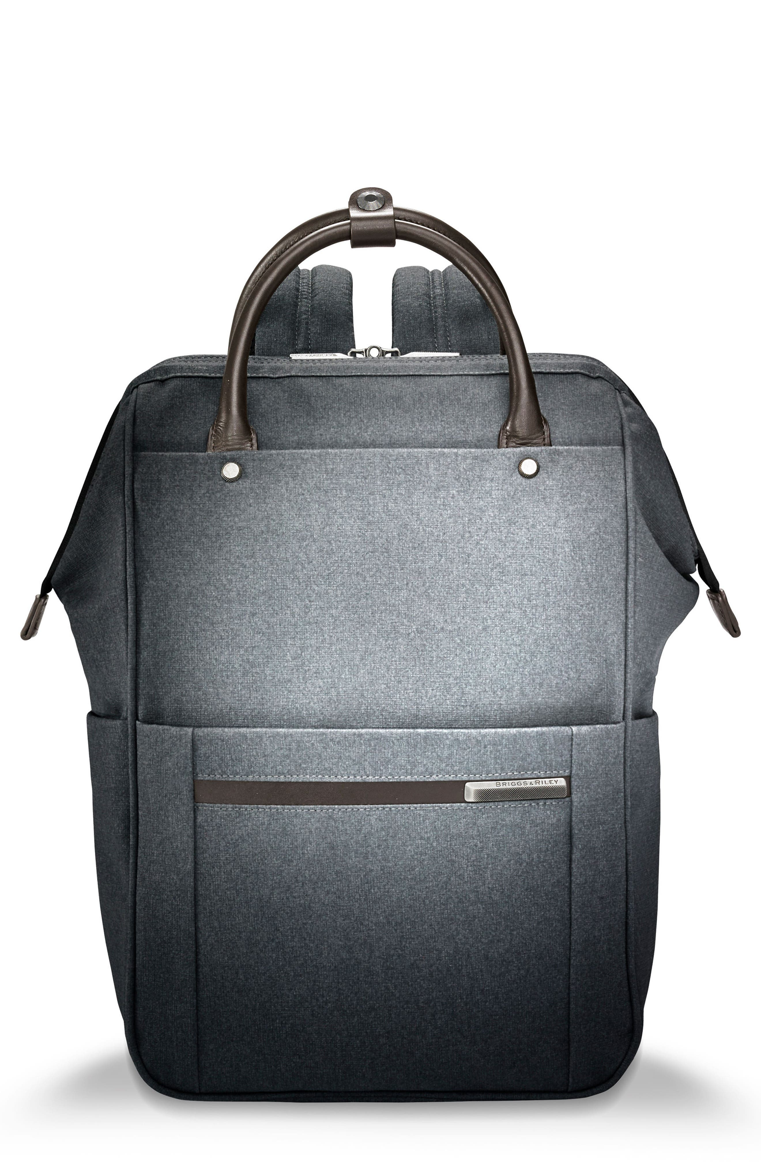 Kinzie Street Backpack,                             Main thumbnail 1, color,                             Grey