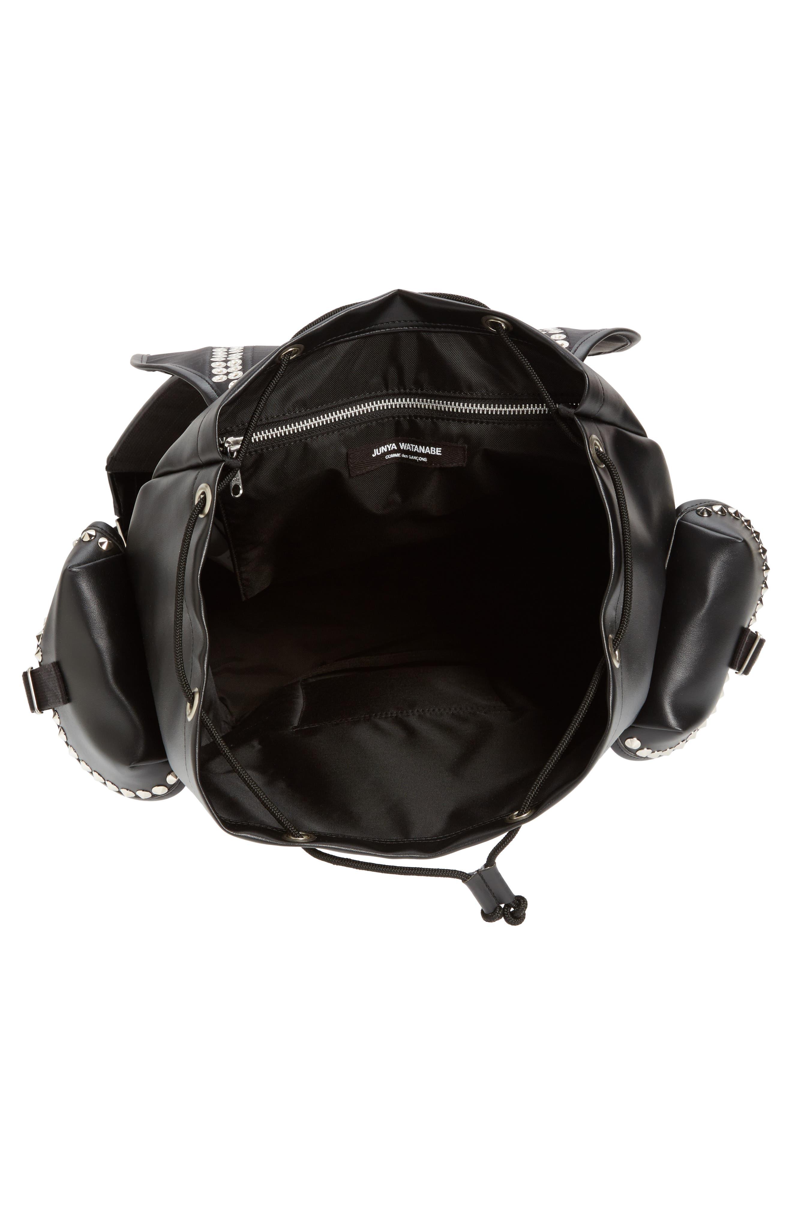 Alternate Image 4  - Junya Watanabe Studded Faux Leather Backpack