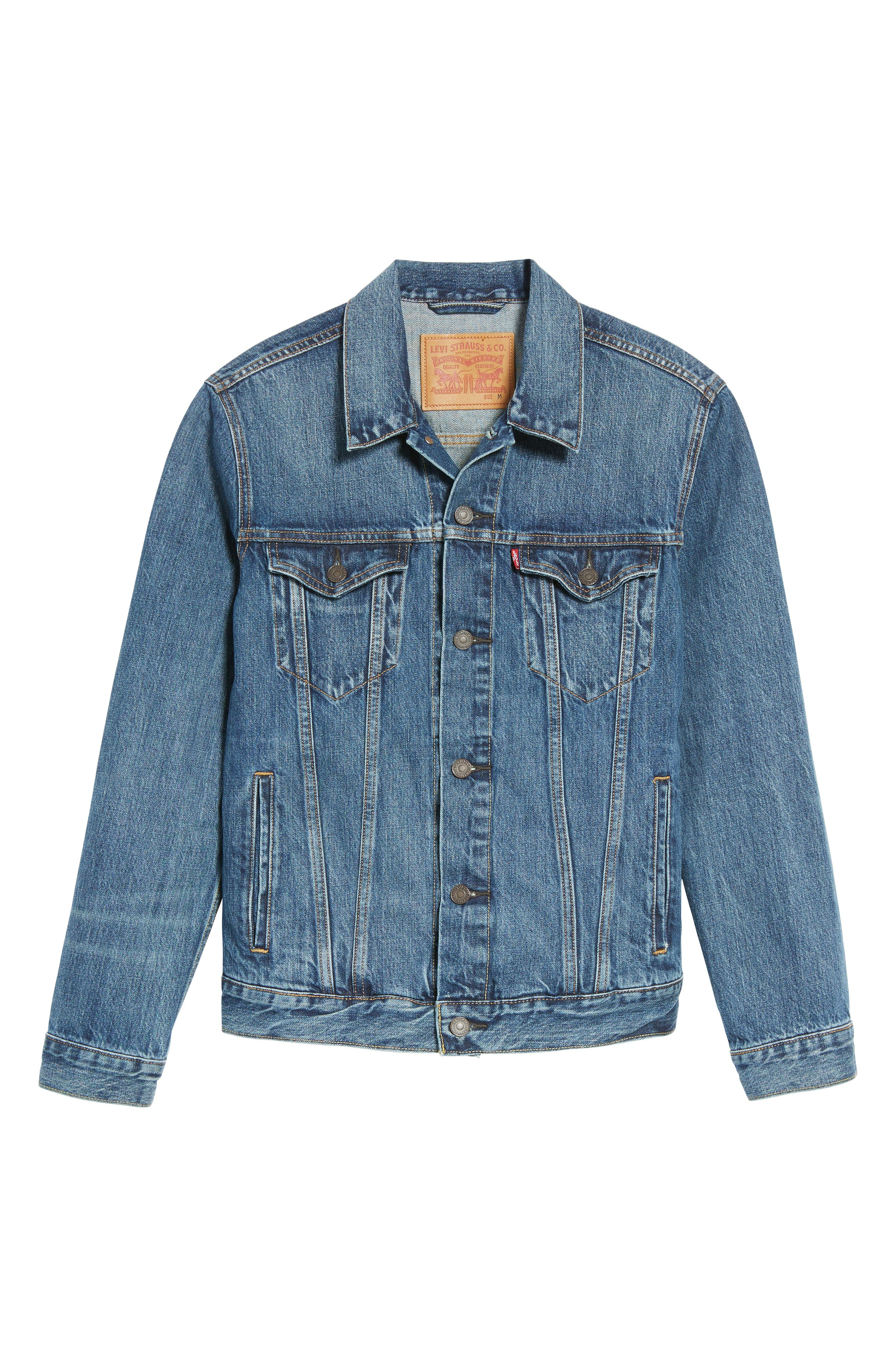 Alternate Image 6  - Levi's® Trucker Denim Jacket