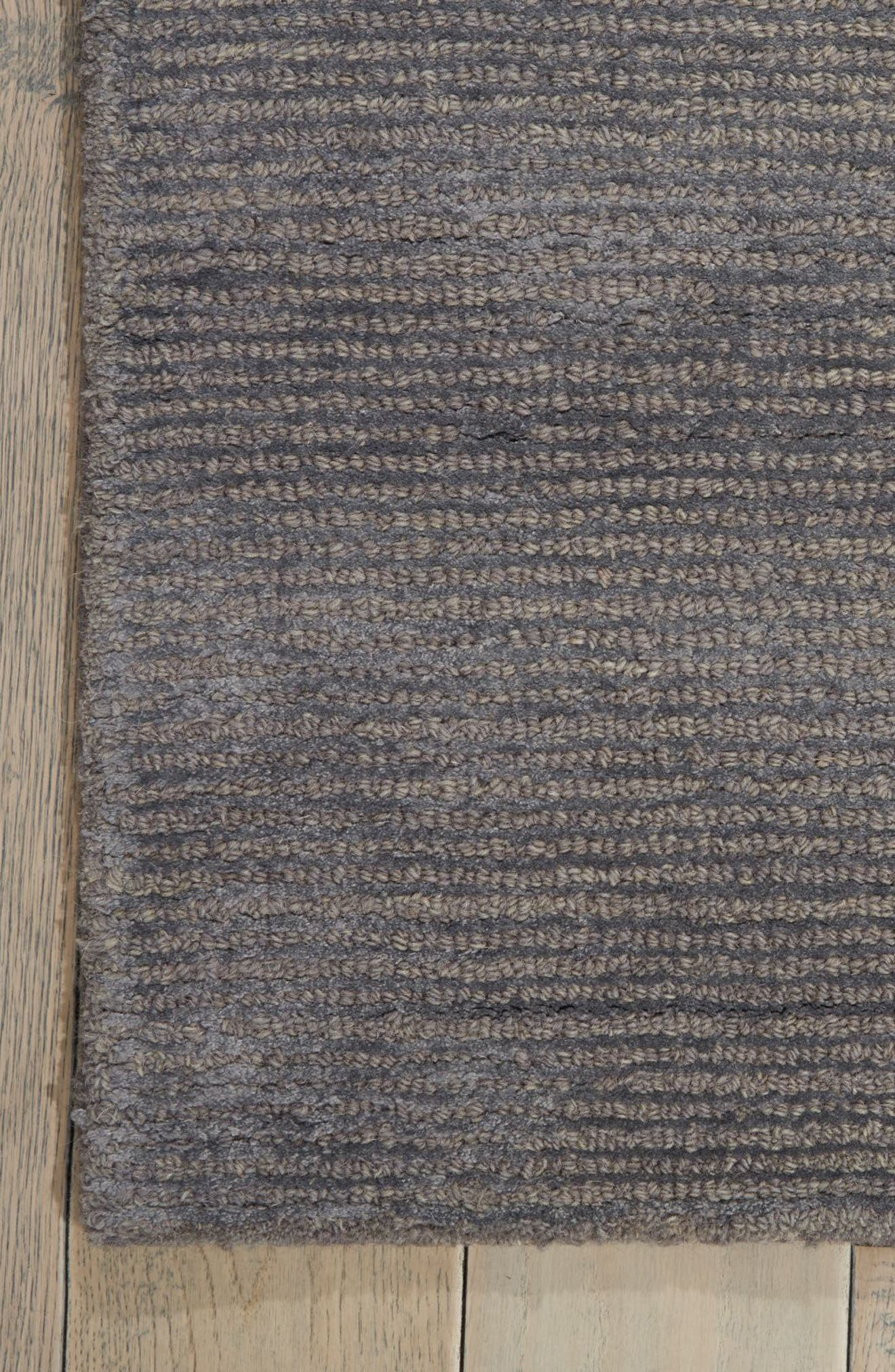 Ravine Furrow Handwoven Area Rug,                             Alternate thumbnail 4, color,                             Dusk