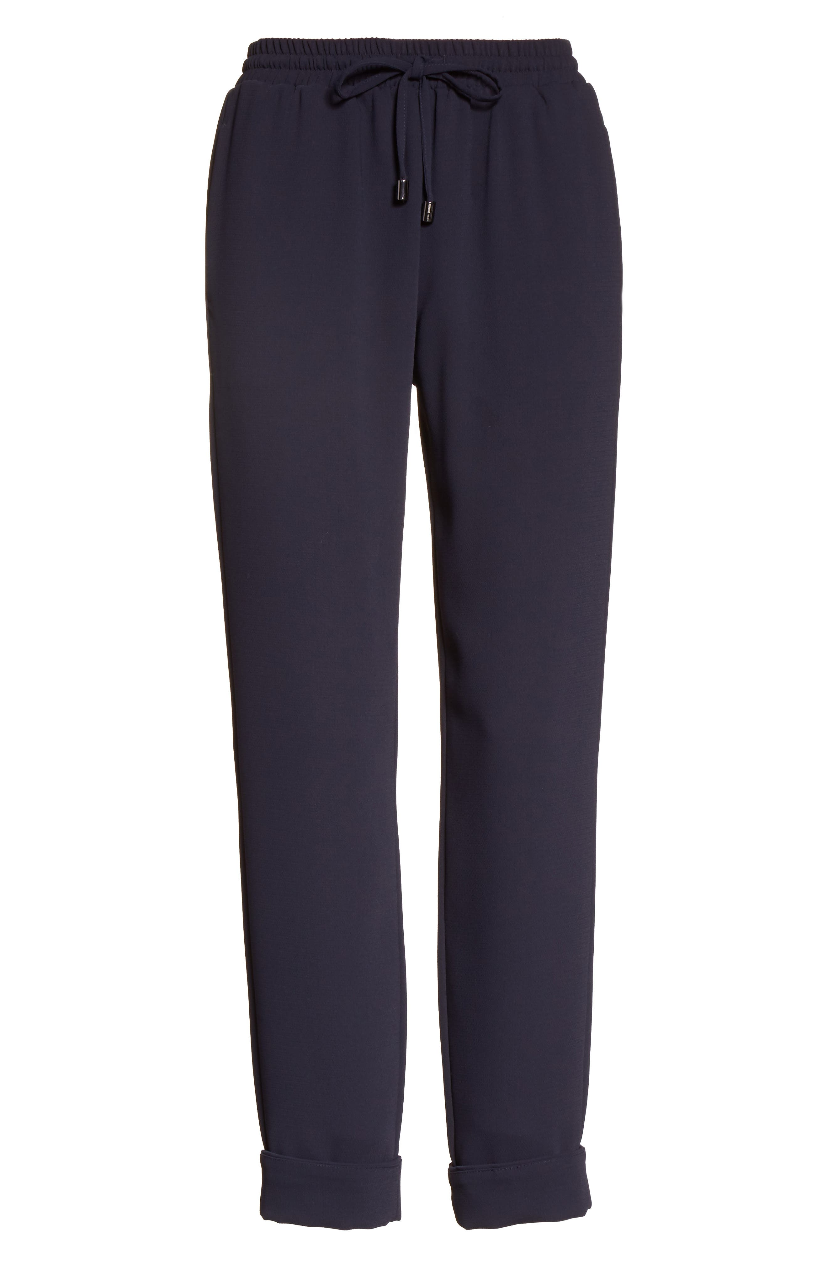 Armani Jeans Tech Jogger Pants,                             Alternate thumbnail 4, color,                             Navy